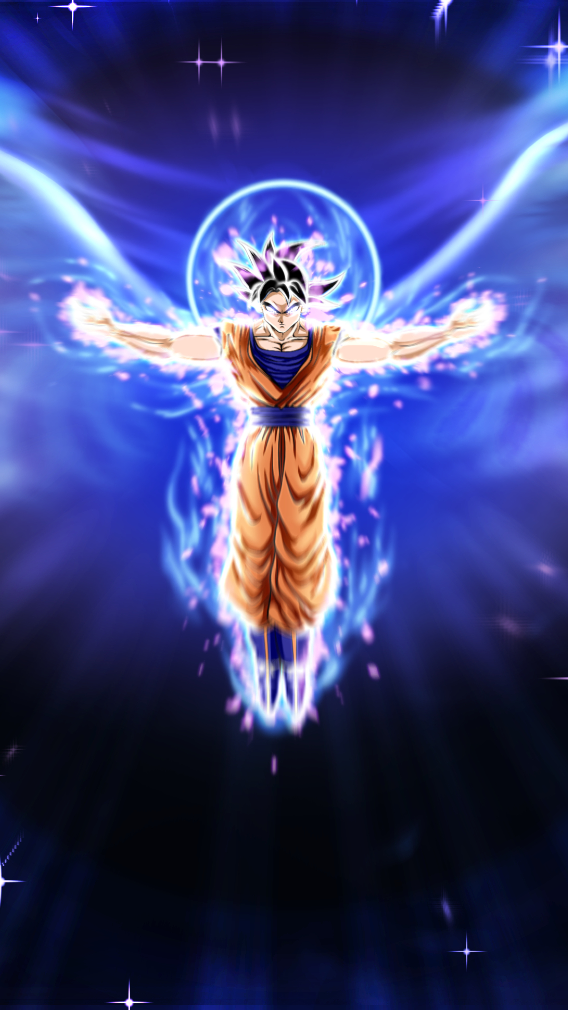 2160x3840 Ultra Instinct Dragon Ball Goku Sony Xperia X,XZ
