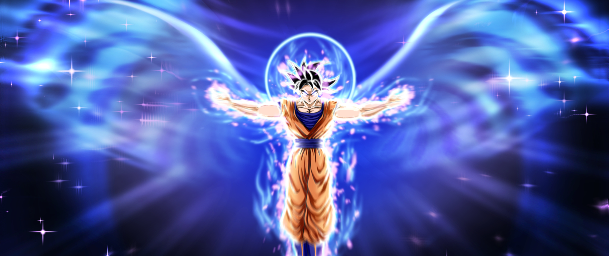 2560x1080 Ultra Instinct Dragon Ball Goku 2560x1080 Resolution