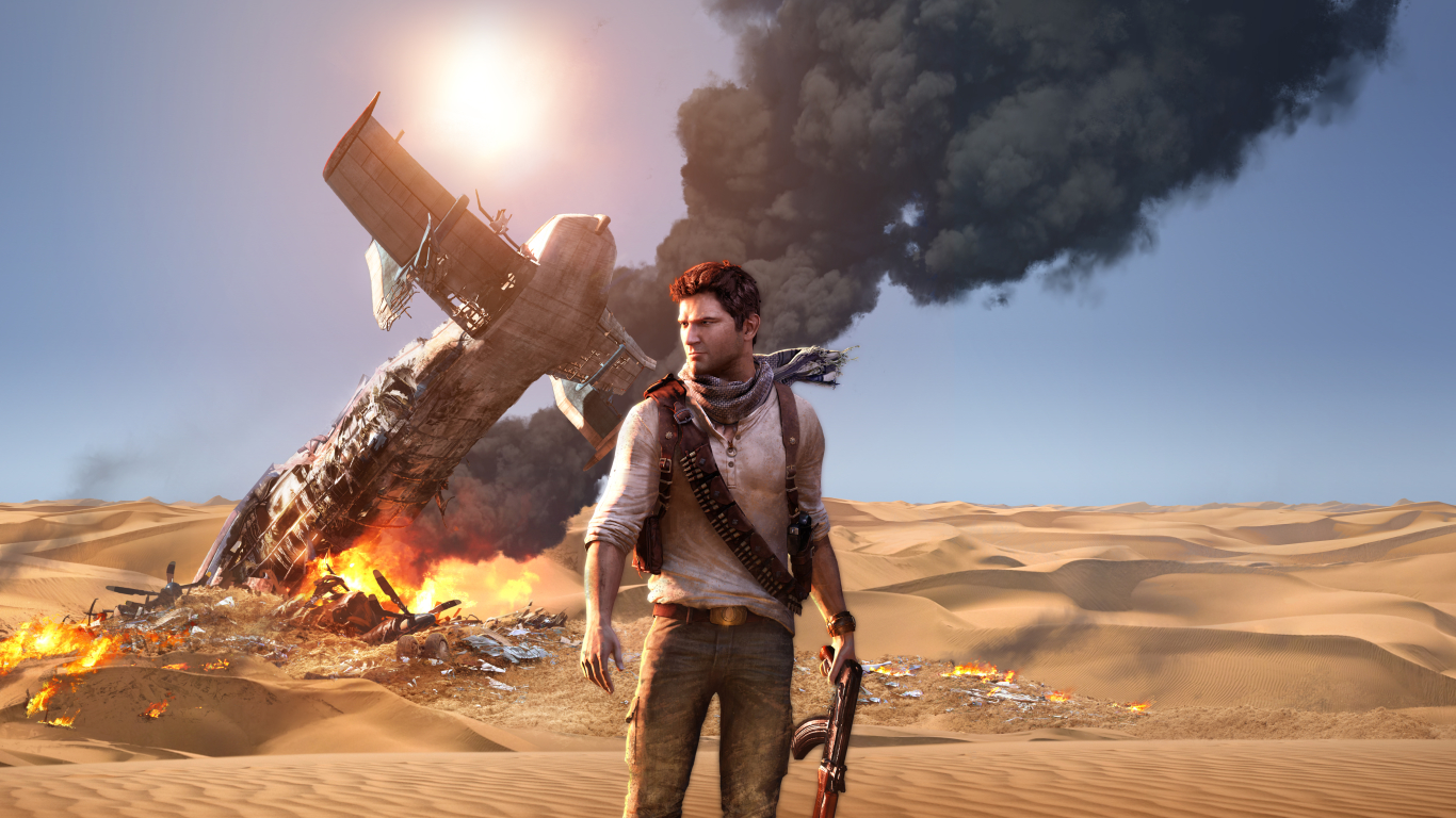 1366x768 Uncharted 3 Game 1366x768 Resolution Wallpaper Hd Games