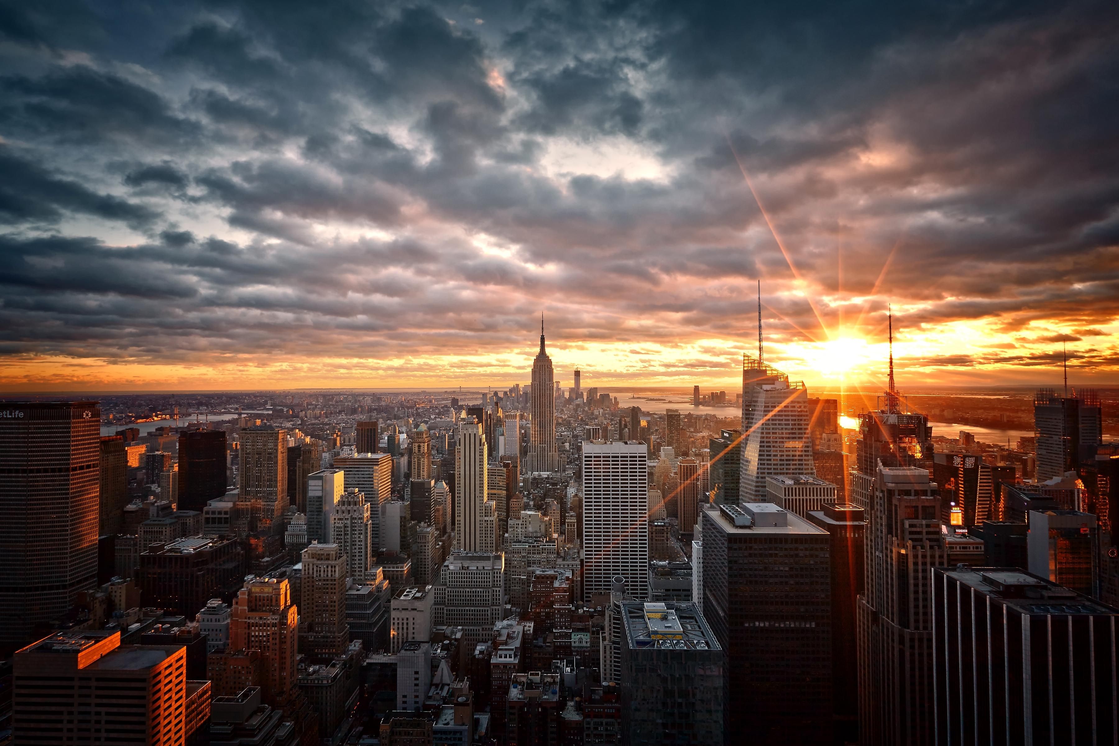 Usa New York Top View Wallpaper Hd Nature 4k Wallpapers