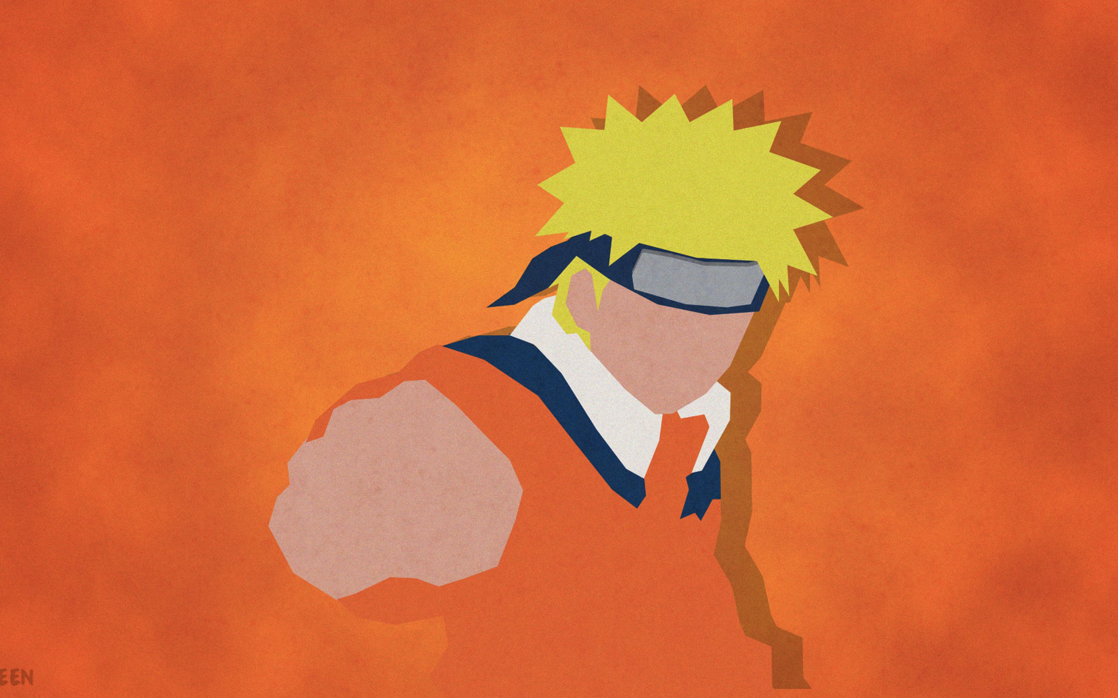 Download Uzumaki Naruto Shippuuden Minimalism 1366x768 ...