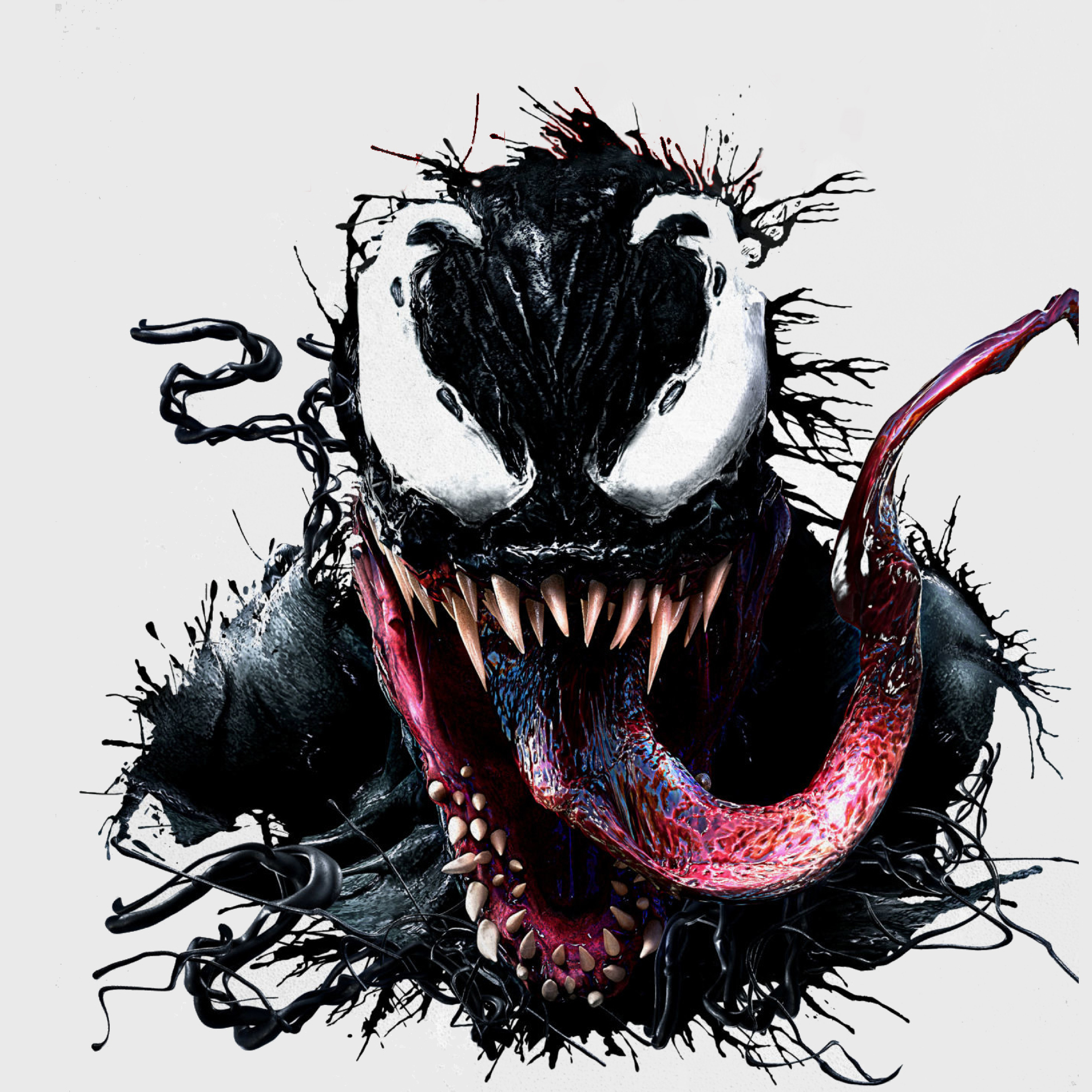 Download Venom 2018 Movie Imax Poster 7680x4320 Resolution