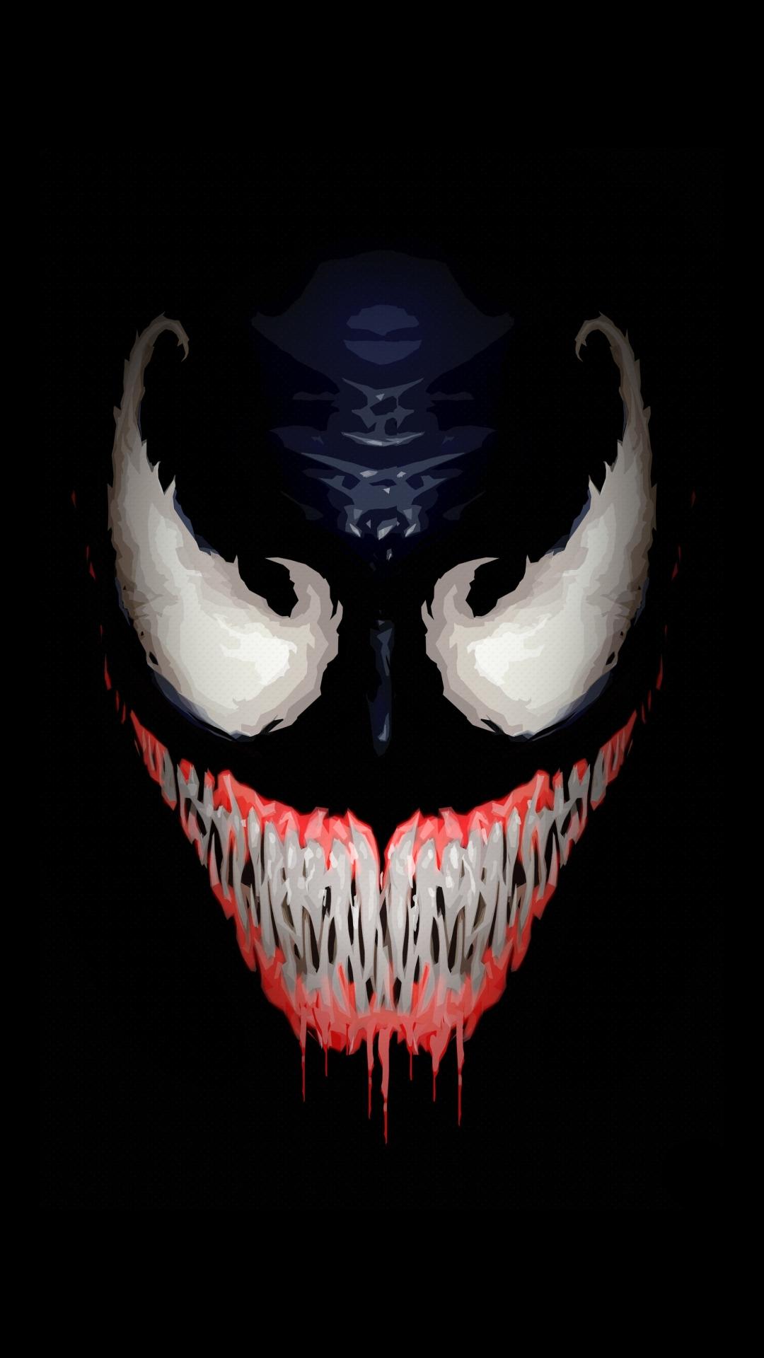 Download Venom Artwork Minimal 1152x864 Resolution Hd 8k Wallpaper