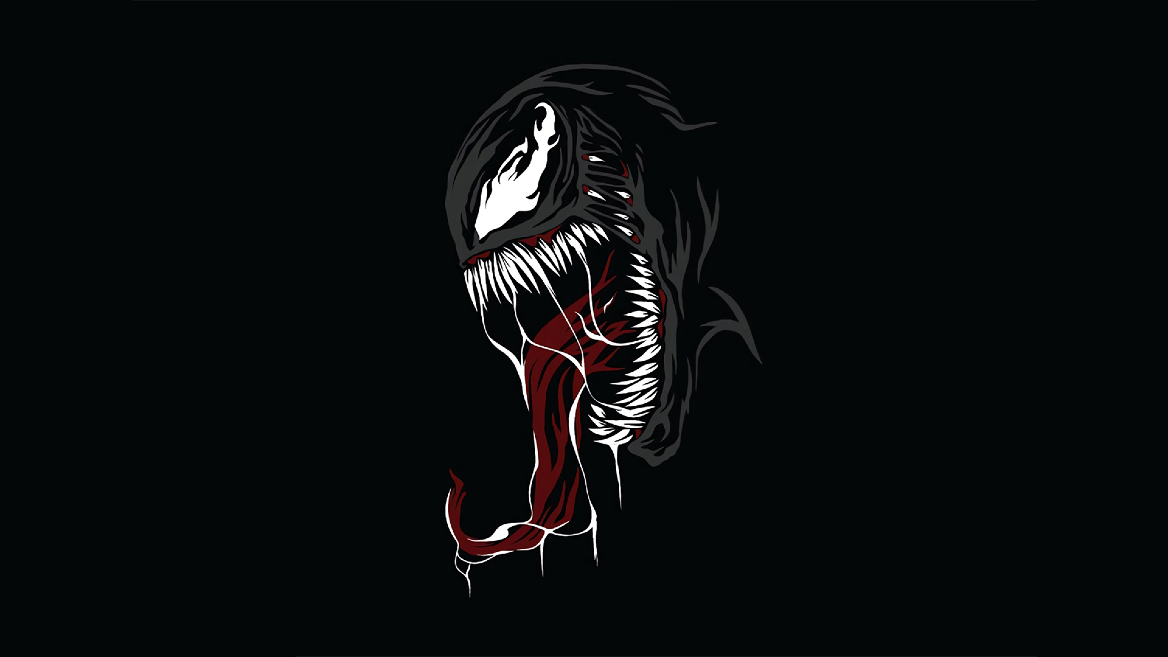 3840x2160 Venom Minimal 4k Wallpaper Hd Superheroes 4k Wallpapers Images Photos And Background