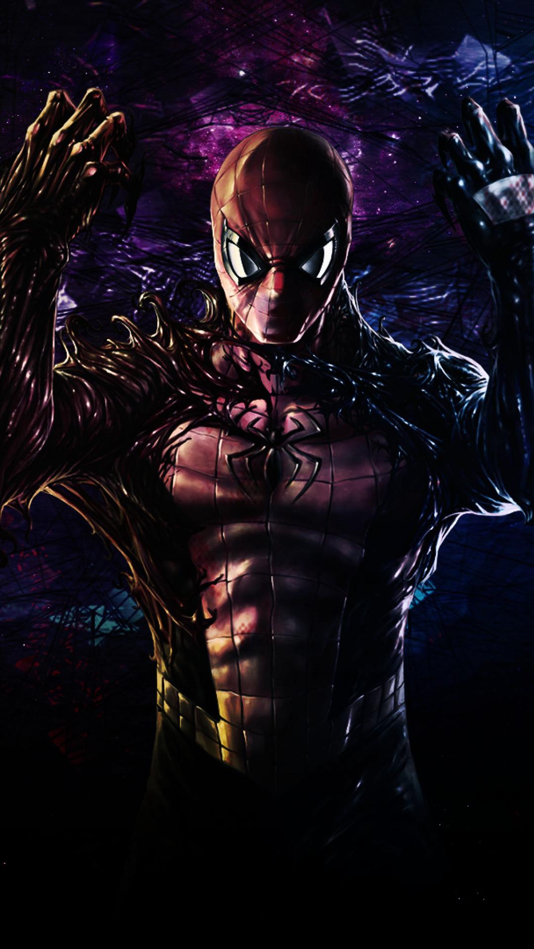 1080x1920 Venom Spider-Man Comicbook Iphone 7, 6s, 6 Plus ...