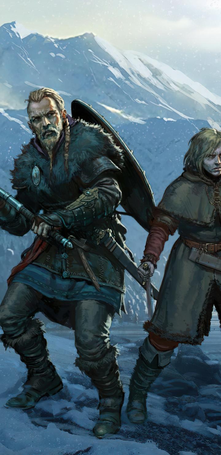720x1480 Vinland Saga Assassins Creed Valhalla 720x1480 ...