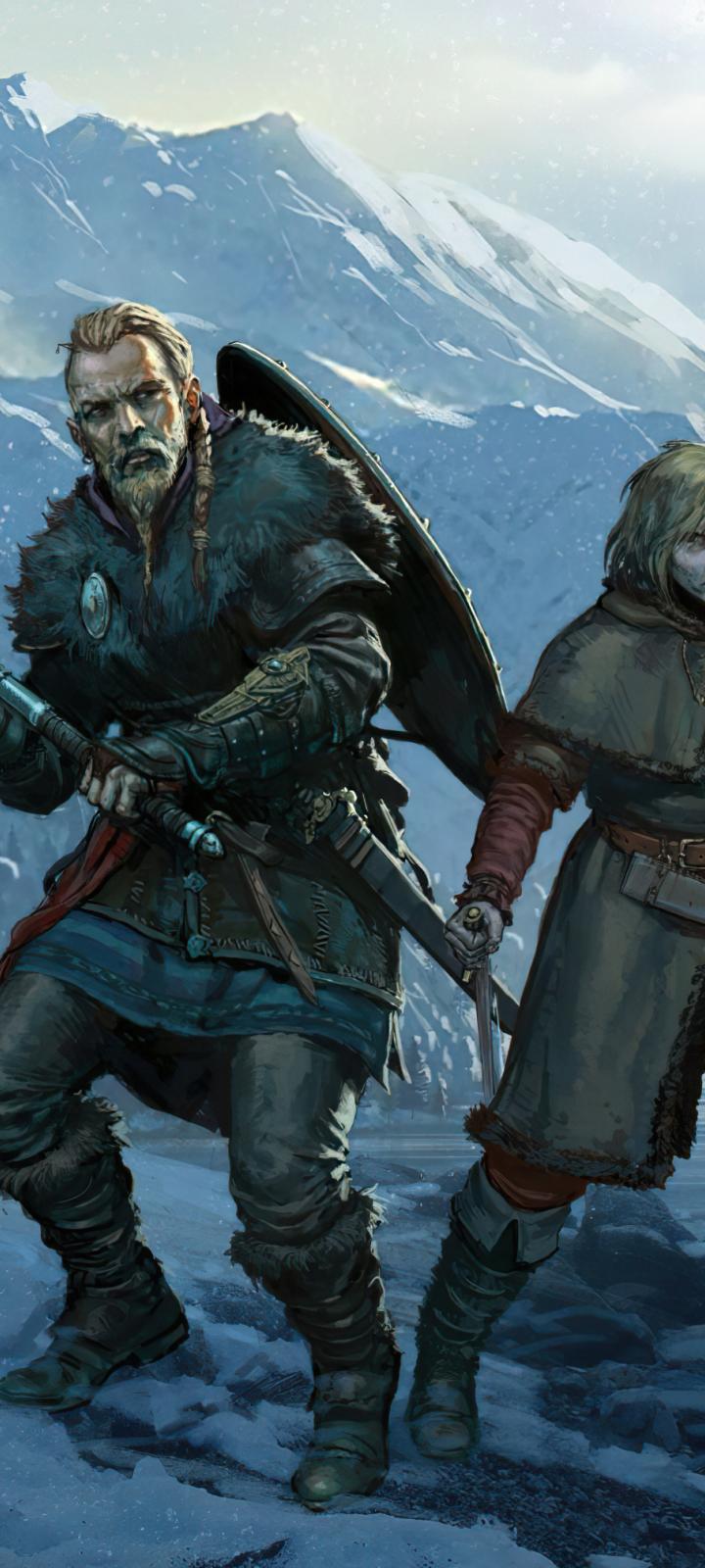 720x1600 Vinland Saga Assassins Creed Valhalla 720x1600 ...