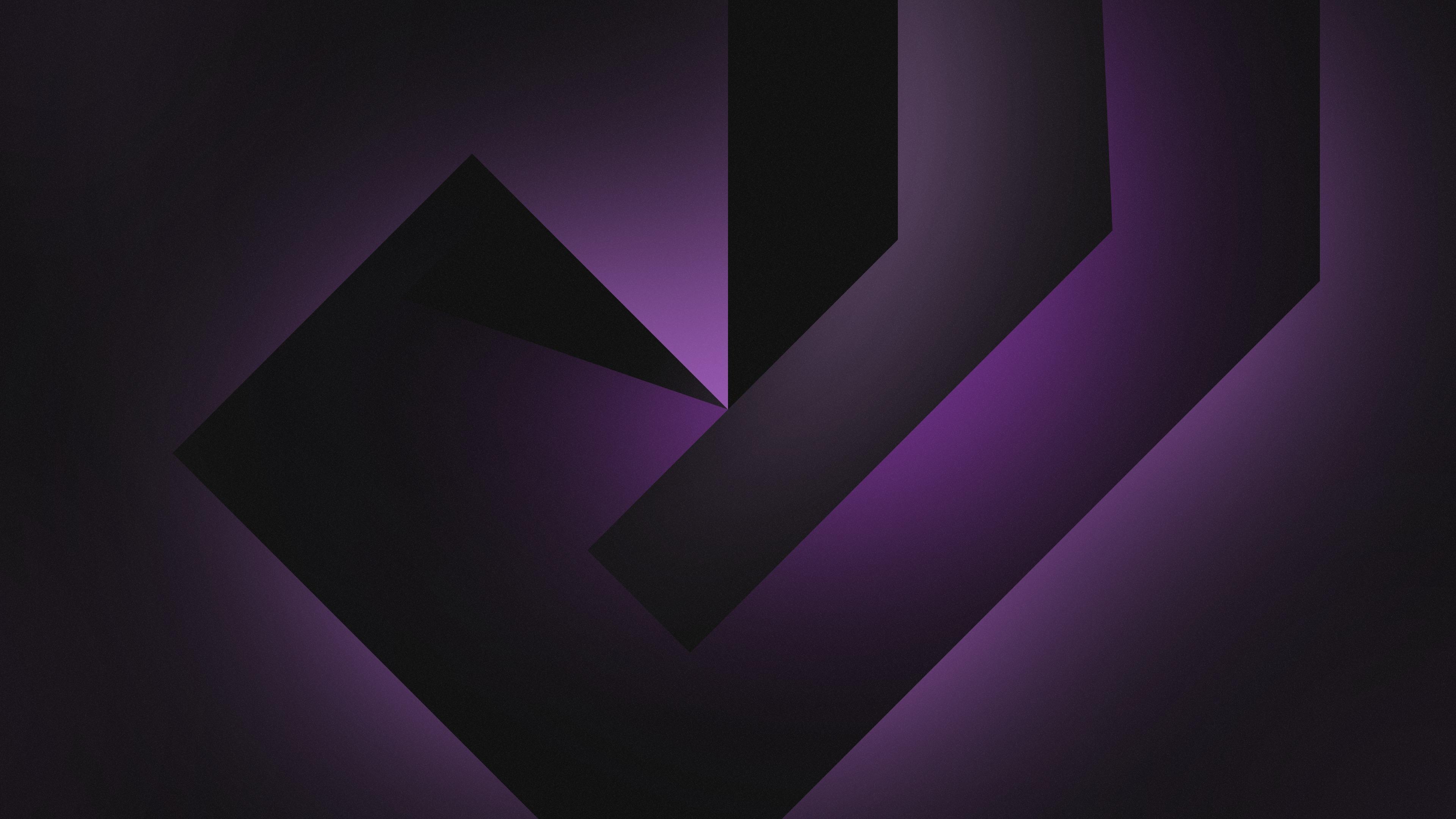 16 Luxury Pubg Wallpaper Iphone 6: 1080x1920 Violet Geometric Dark Shapes Iphone 7, 6s, 6