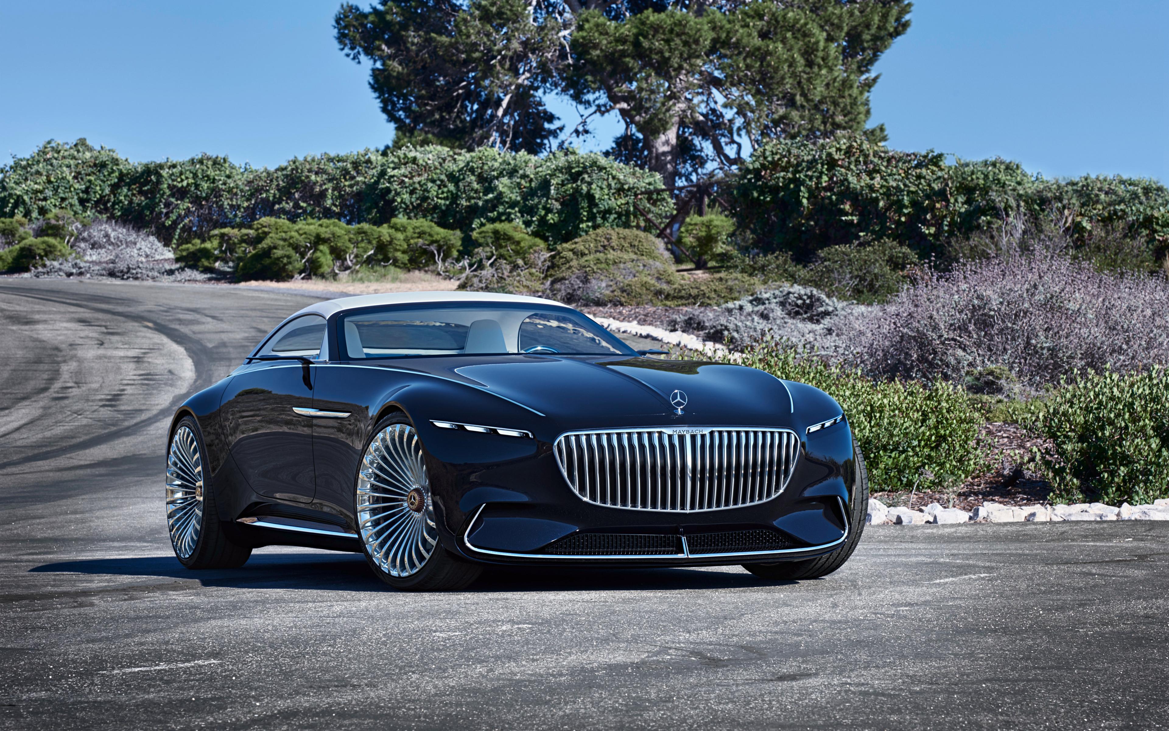 vision mercedes maybach 6 cabriolet hd 4k wallpaper. Black Bedroom Furniture Sets. Home Design Ideas