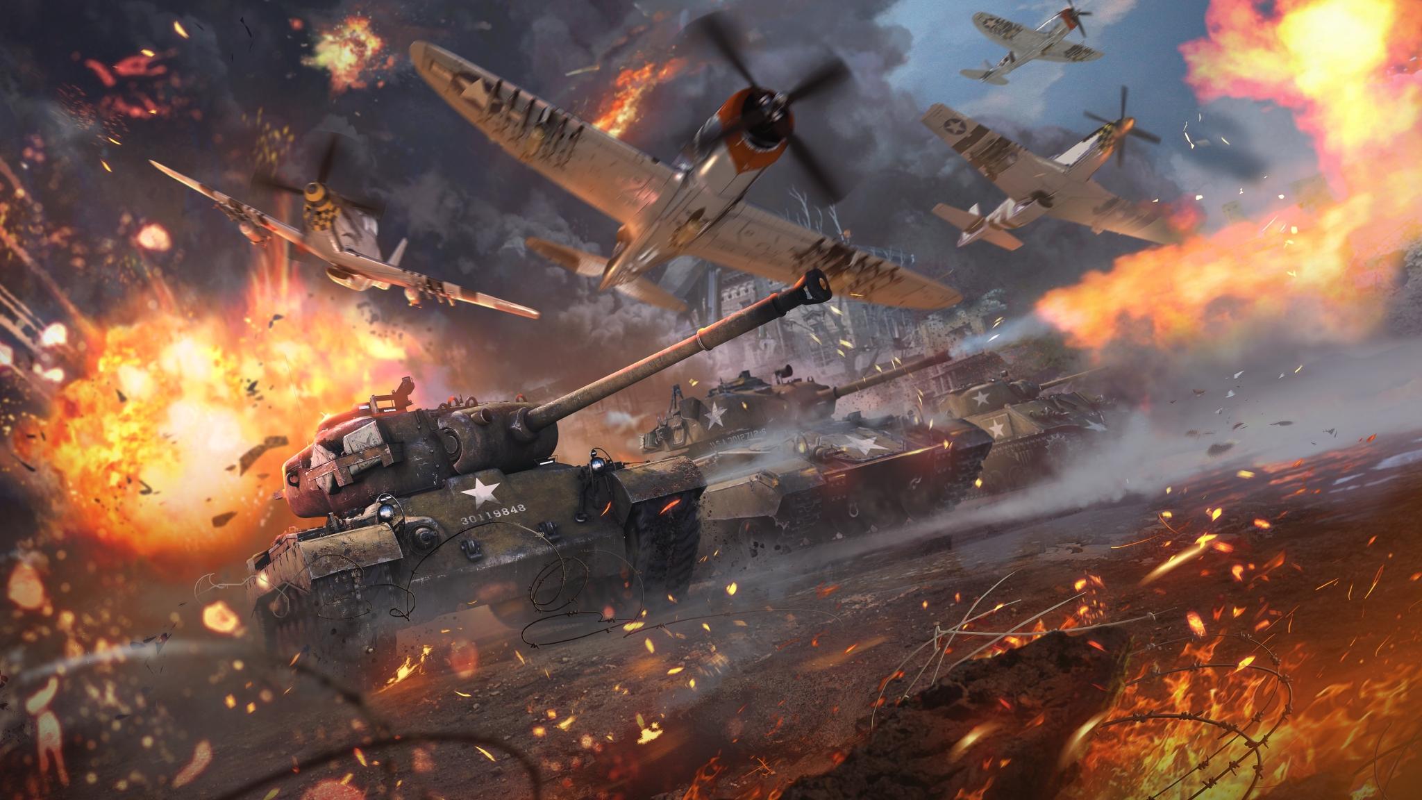 War Thunder Video Game, HD 4K Wallpaper