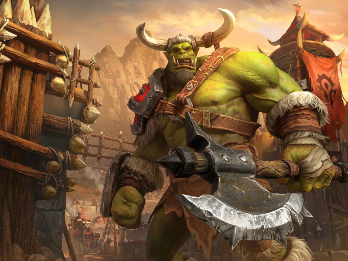Warcraft 3 4k Wallpaper in 1152x864 Resolution