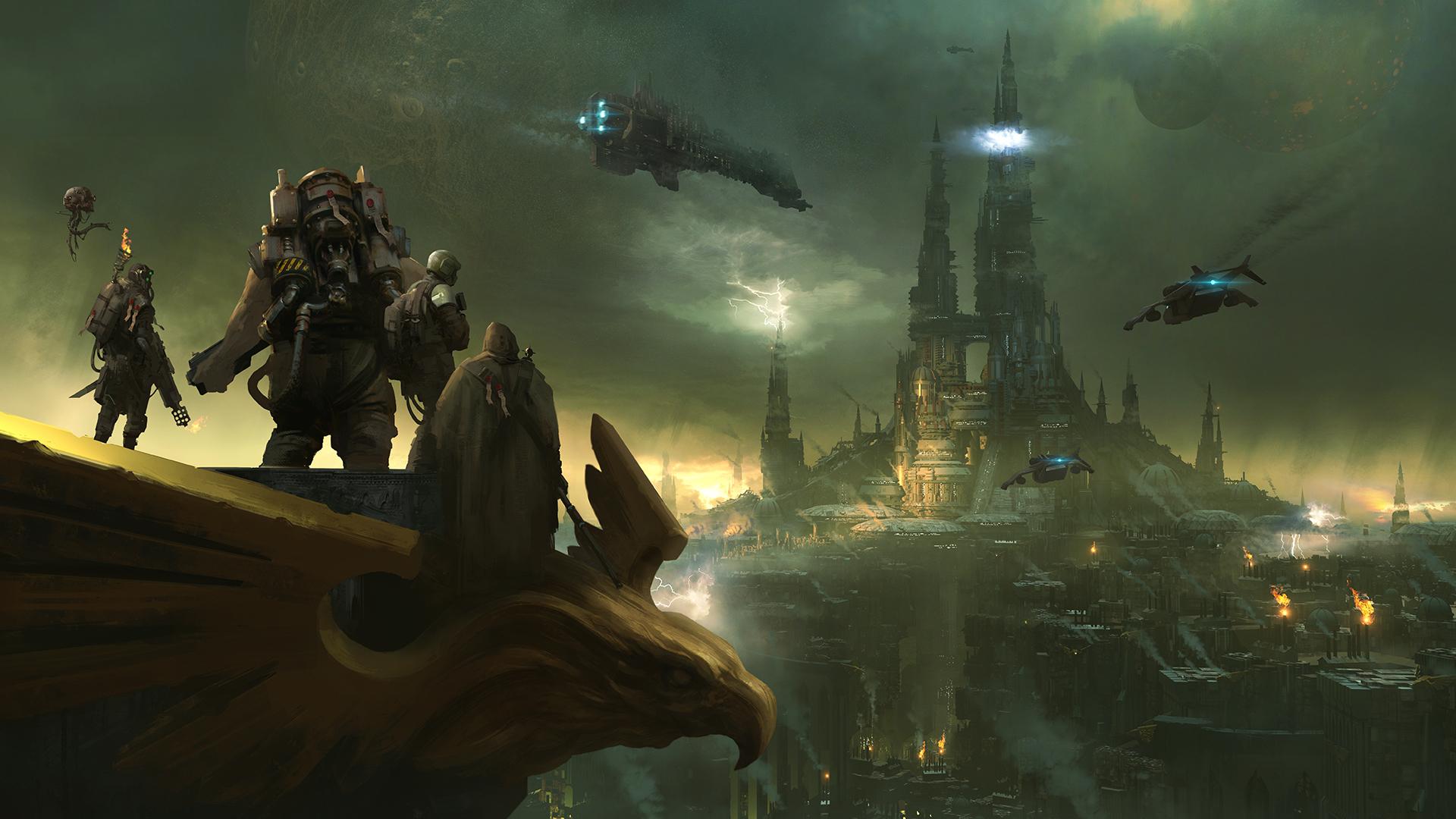Warhammer 40k Darktide Wallpaper Hd Games 4k Wallpapers Images Photos And Background