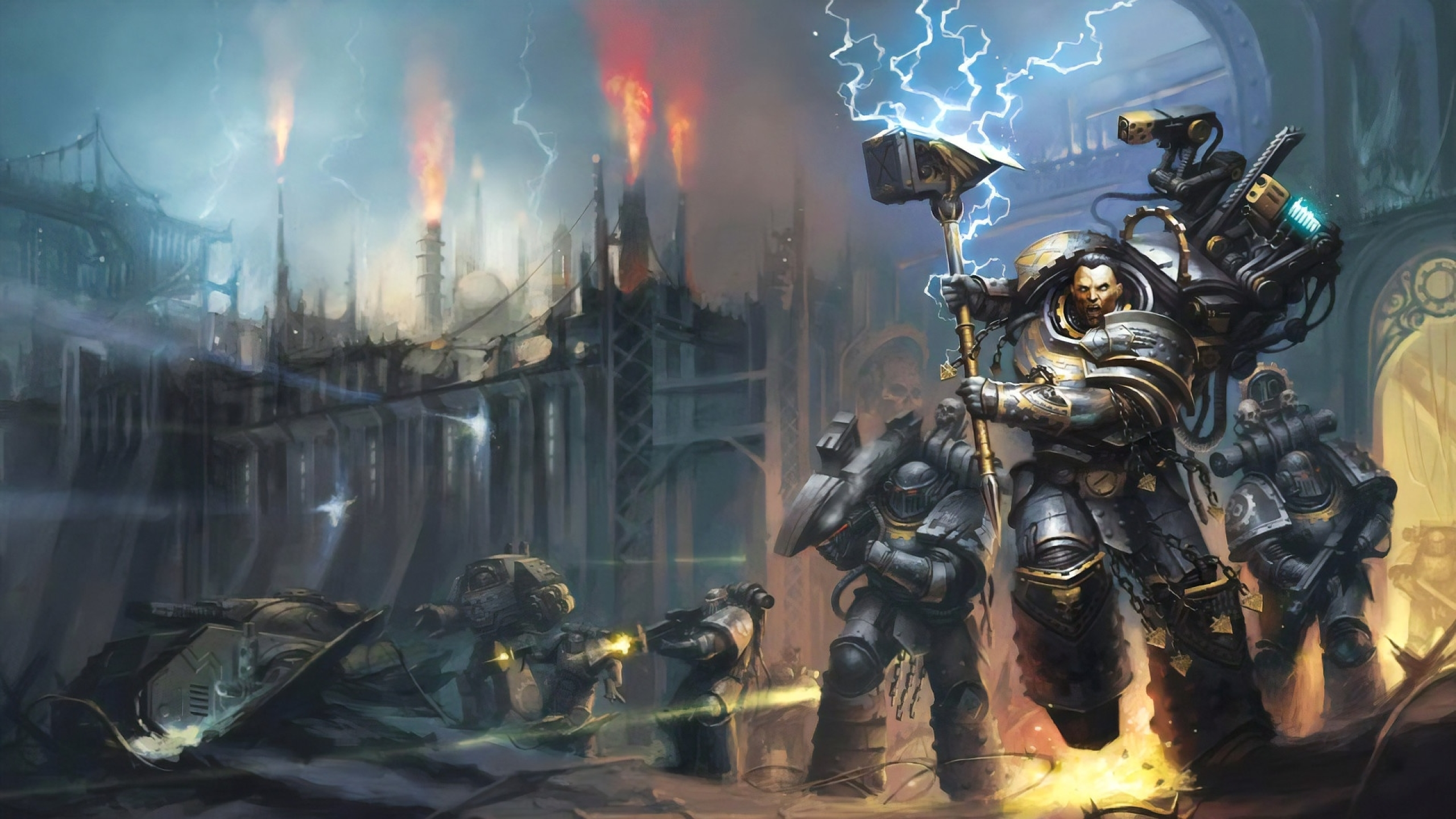 2560x1440 Warhammer 40k 1440p Resolution Wallpaper Hd Games 4k Wallpapers Images Photos And Background