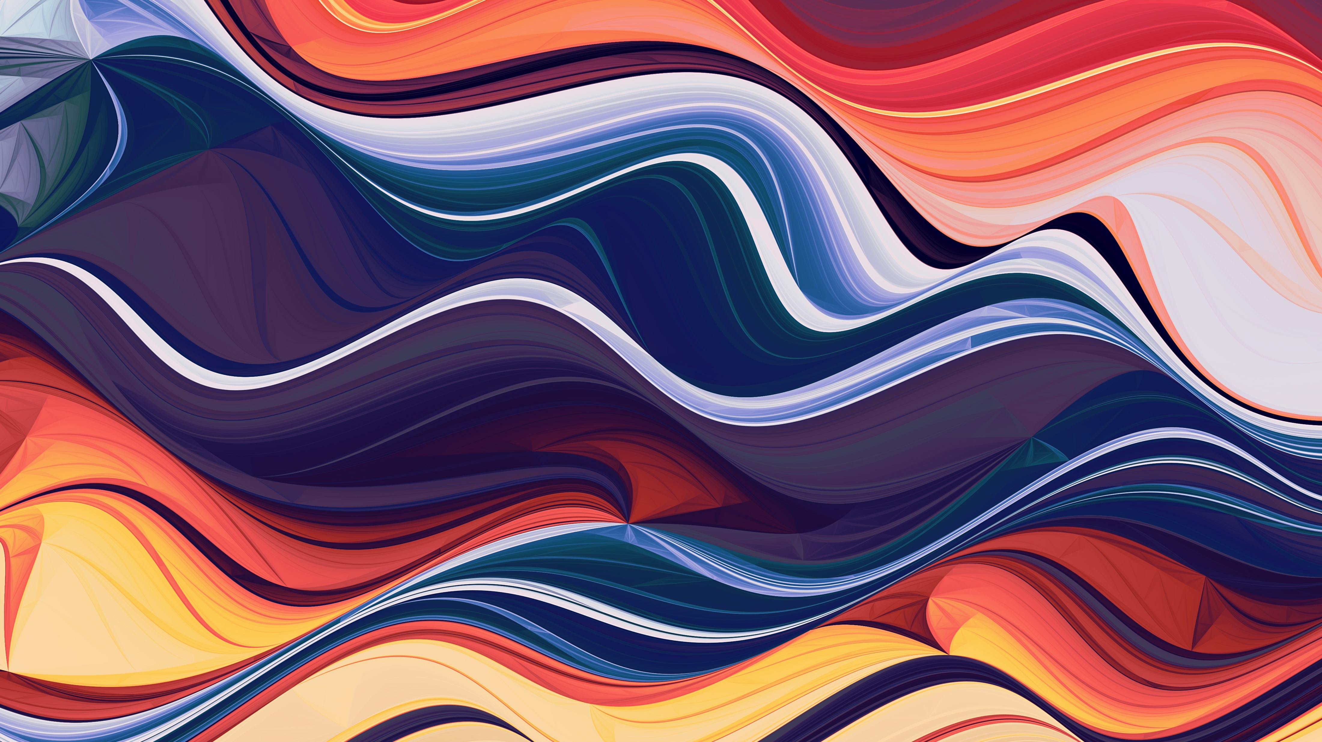 Wave Of Abstract Colors Wallpaper Hd Abstract 4k Wallpapers