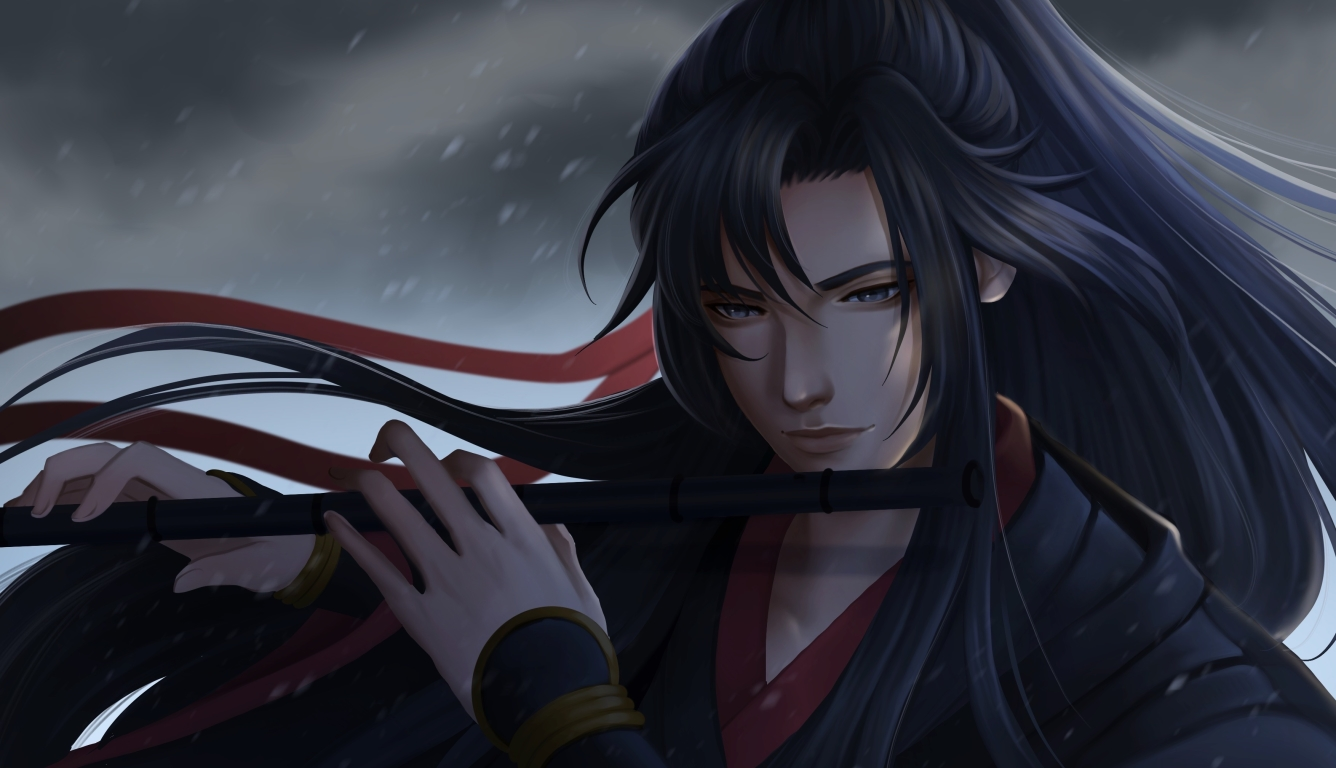 1336x768 Wei Wuxian Anime Hd Laptop Wallpaper Hd Anime 4k Wallpapers Images Photos And Background