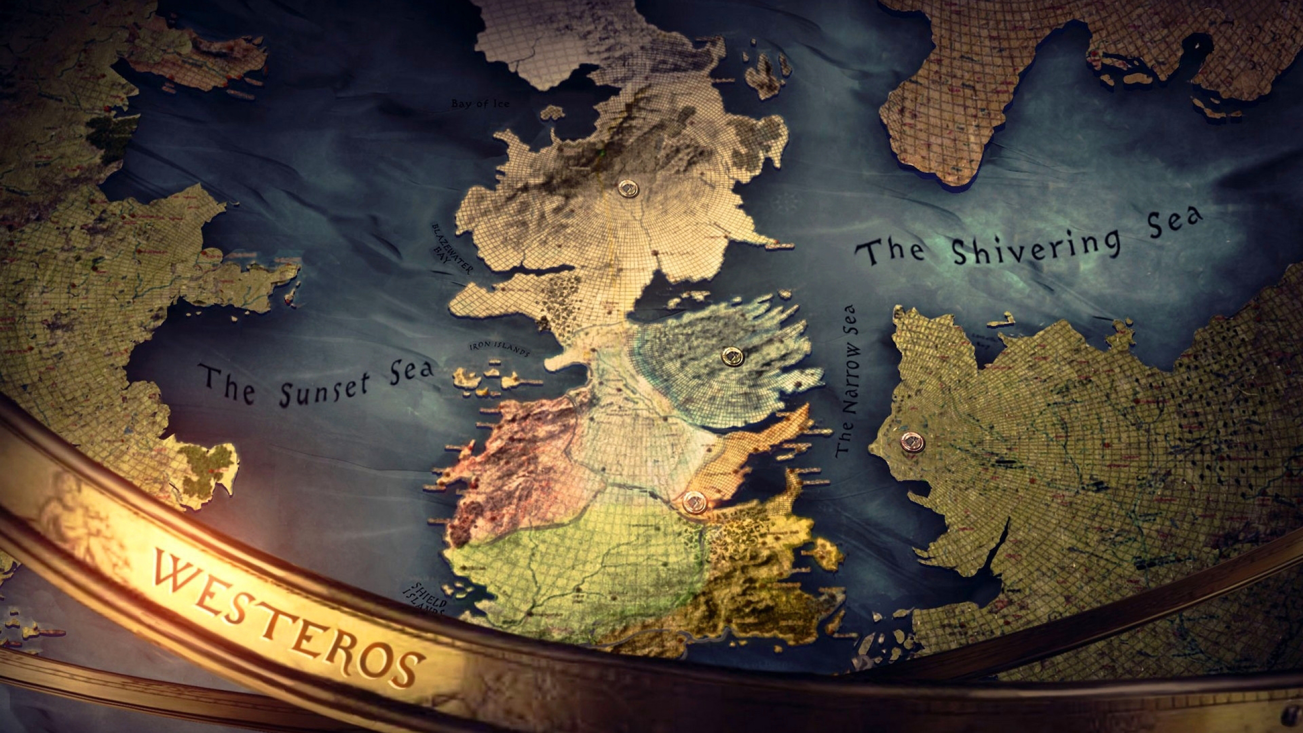 2560x1440 Westeros Map Game Of Thrones Tv Show Wallpaper 1440p