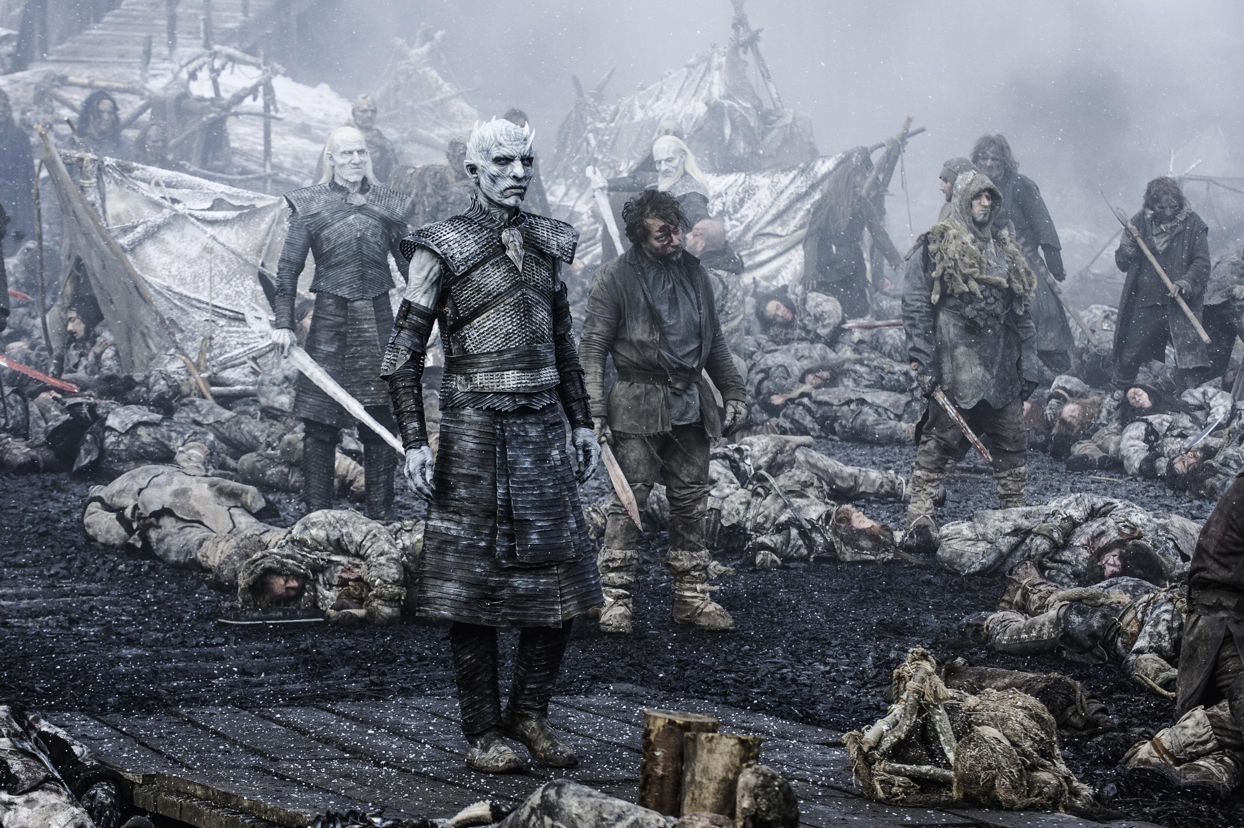 White Walkers King Game Of Thrones Full HD 2K Wallpaper
