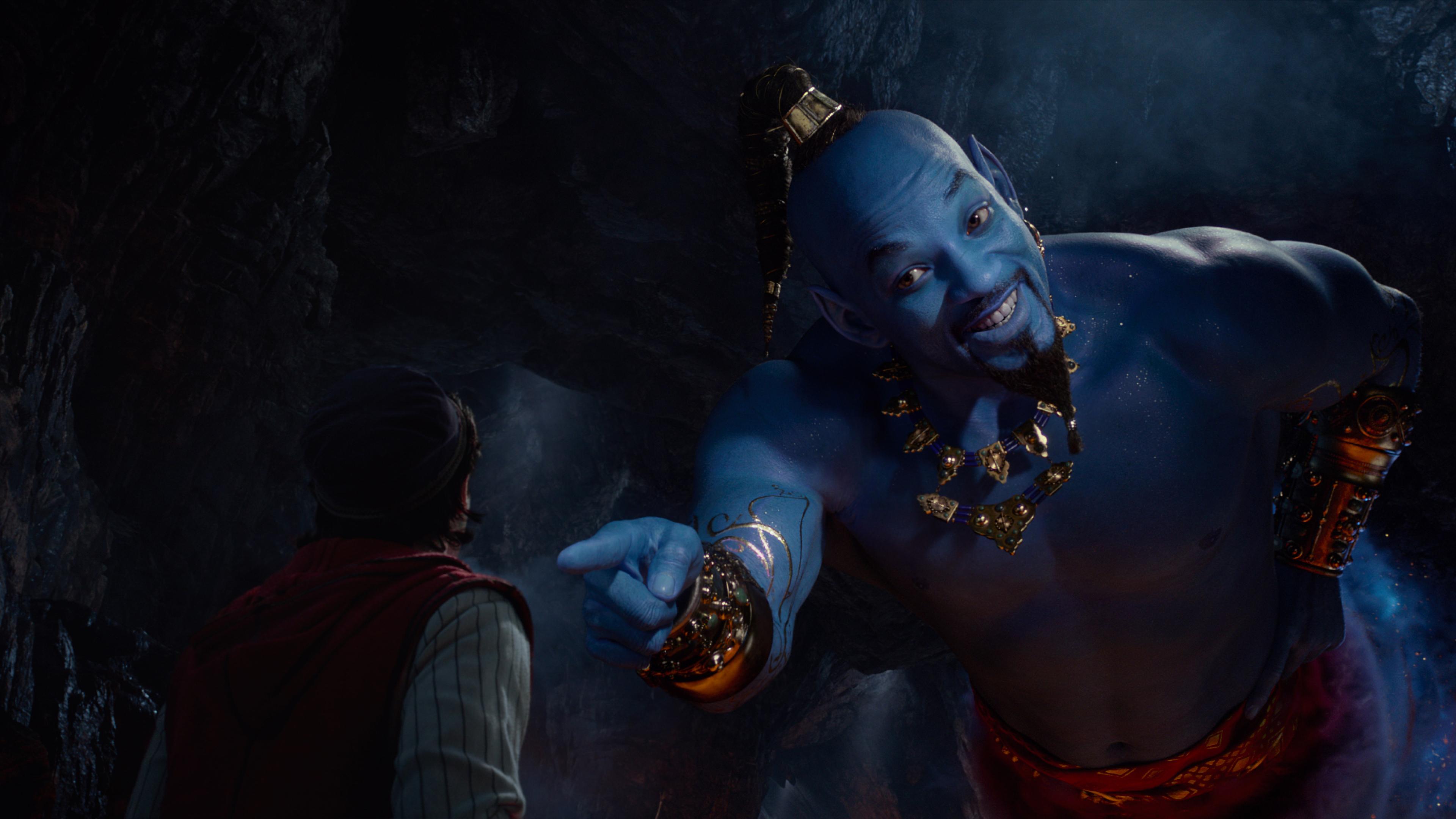 3840x2160 Will Smith As Genie In Aladdin Movie 2019 4k