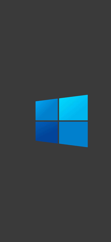 1080x2340 Windows 10 Dark Logo Minimal 1080x2340 ...