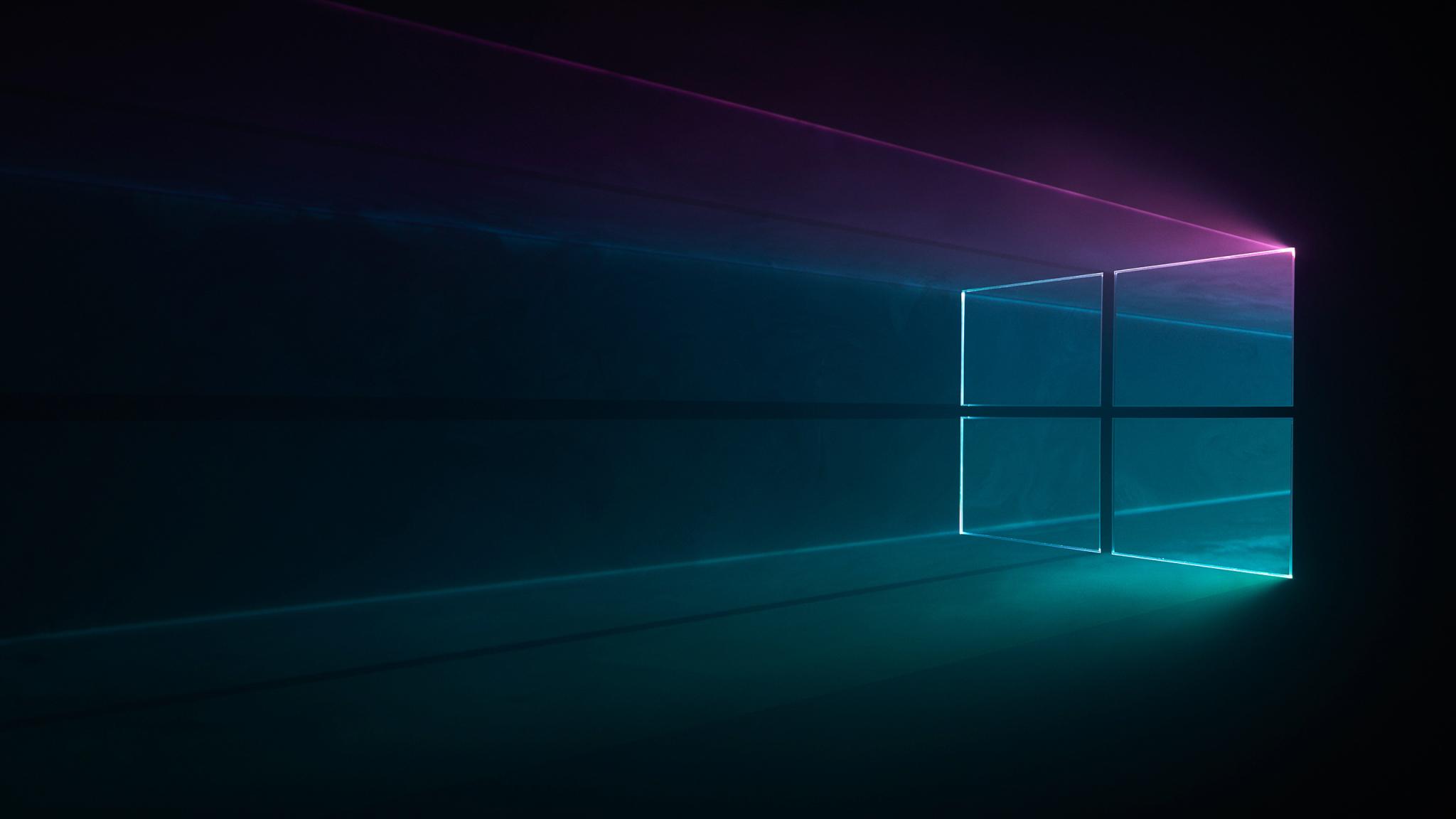 2048x1152 Windows 10 Dark 2048x1152 Resolution Wallpaper Hd