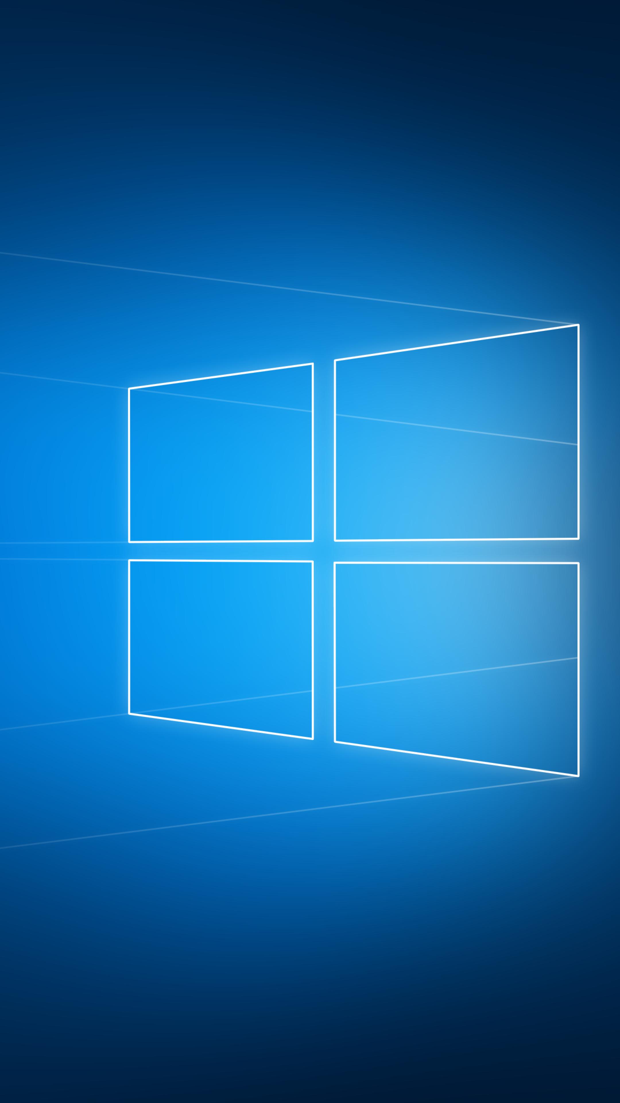 2160x3840 Windows 10 Hero Logo Sony Xperia X Xz Z5 Premium