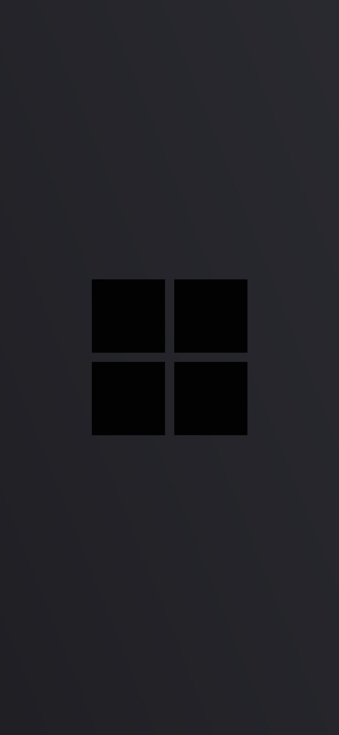 1125x2436 Windows 10 Logo Minimal Dark Iphone XS,Iphone 10 ...