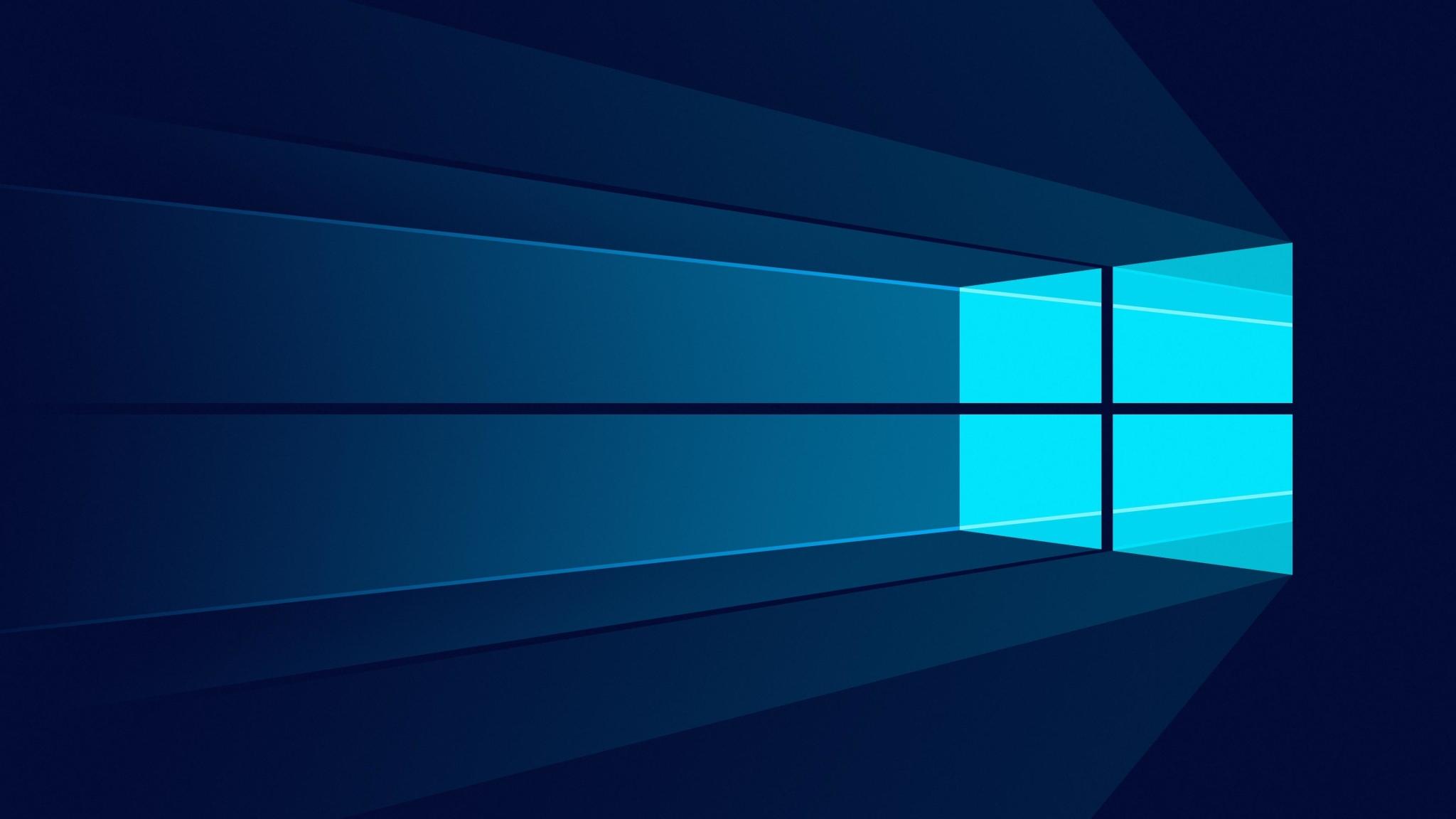 2048x1152 Windows 10 Minimal 2048x1152 Resolution Wallpaper