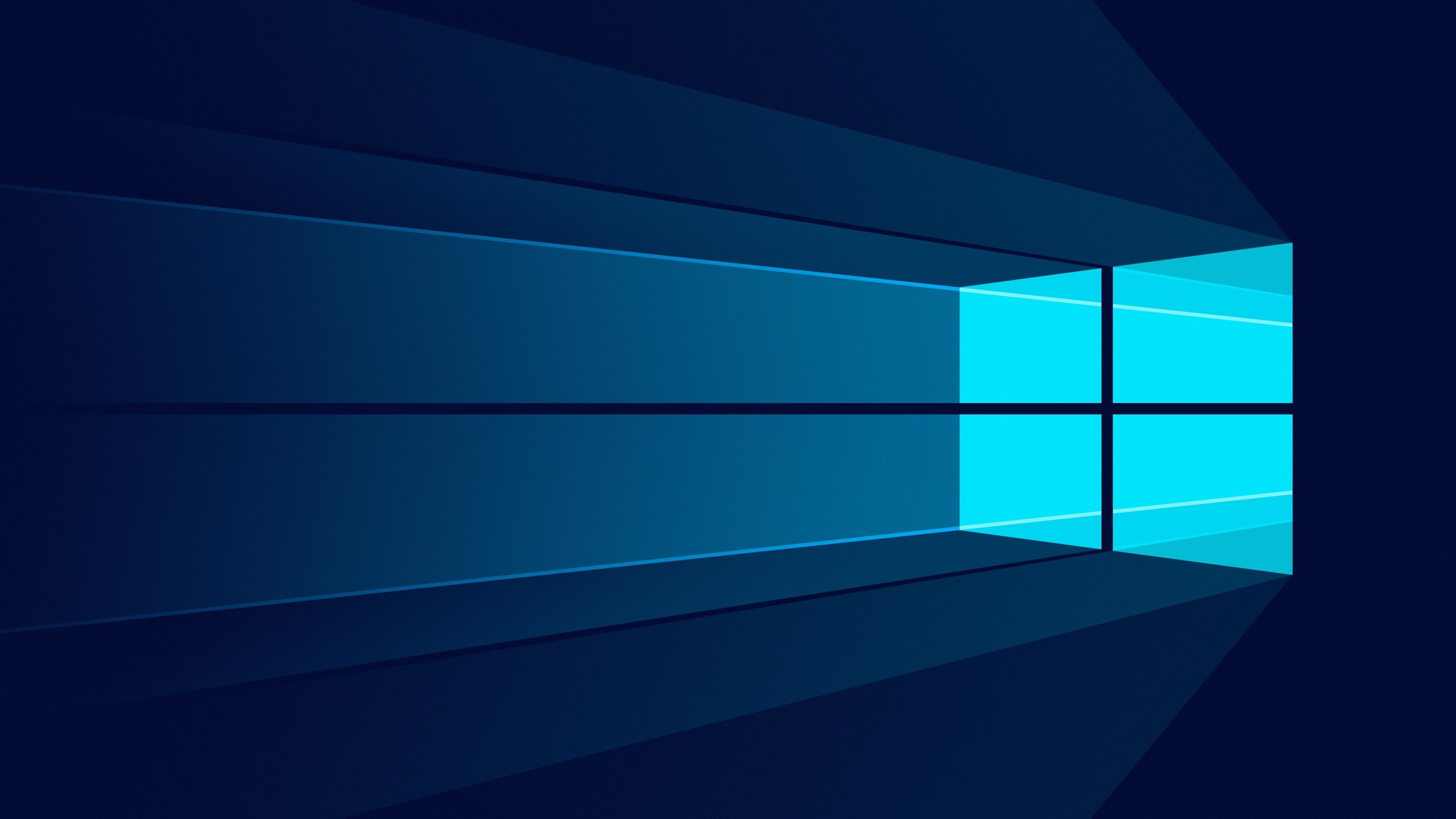 Windows 10 Minimal, HD 4K Wallpaper