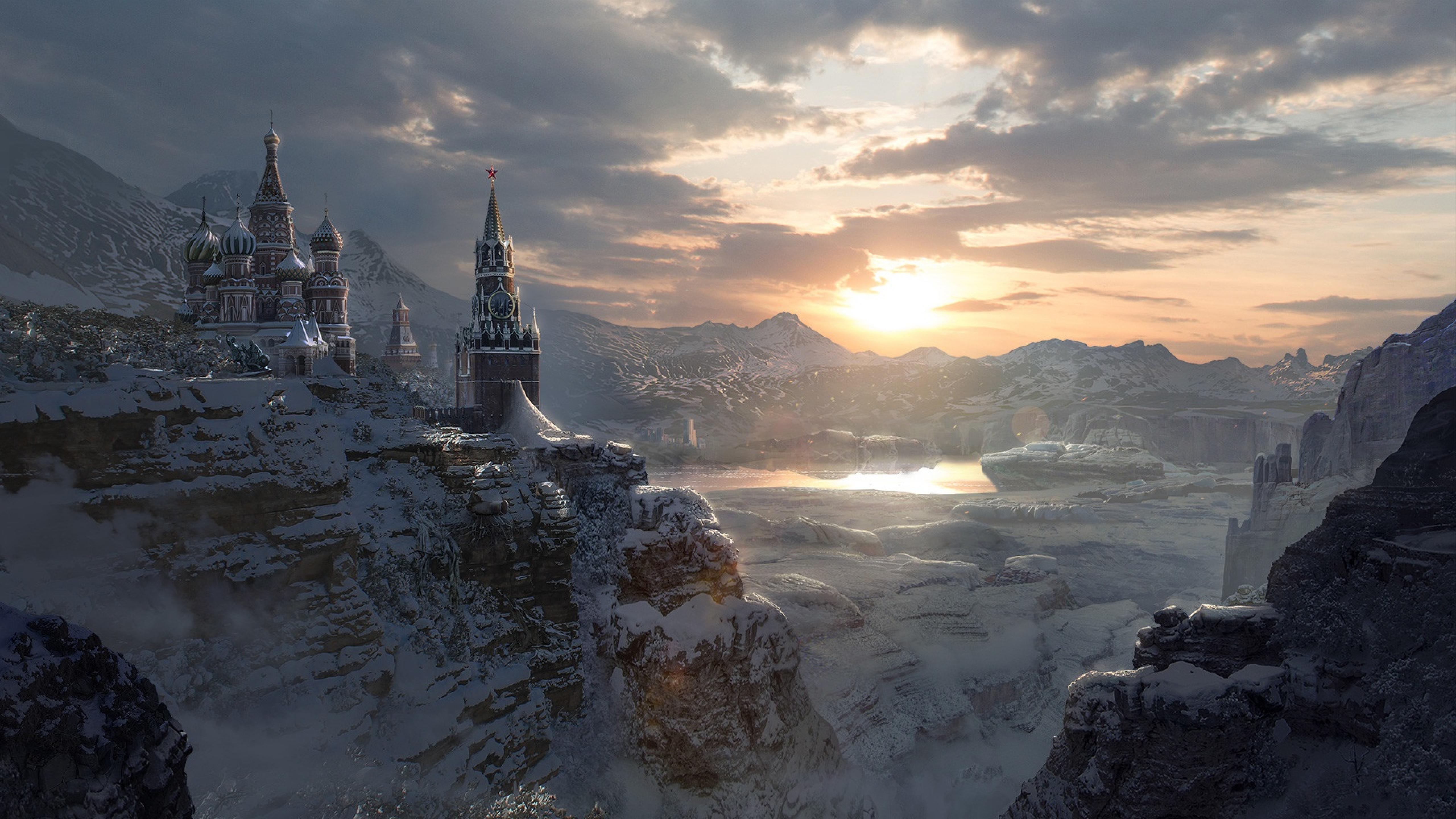 5120x2880 Winter In Russia 5k Wallpaper Hd City 4k