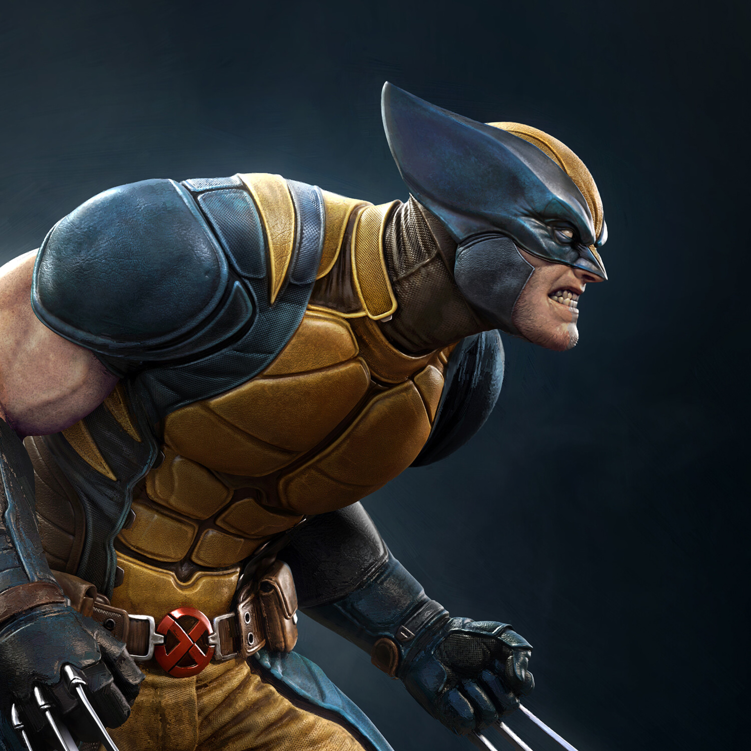 2932x2932 Wolverine X Men Art Ipad Pro Retina Display Wallpaper Hd Superheroes 4k Wallpapers Images Photos And Background