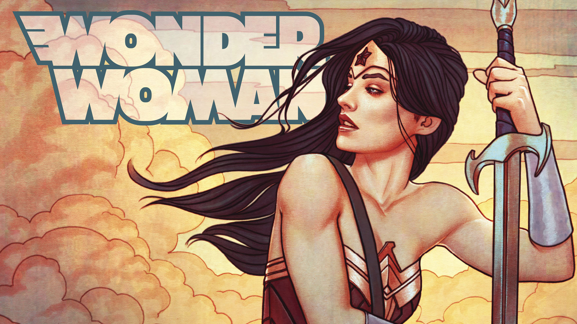 Wonder Woman Dc Comics, Full HD Wallpaper