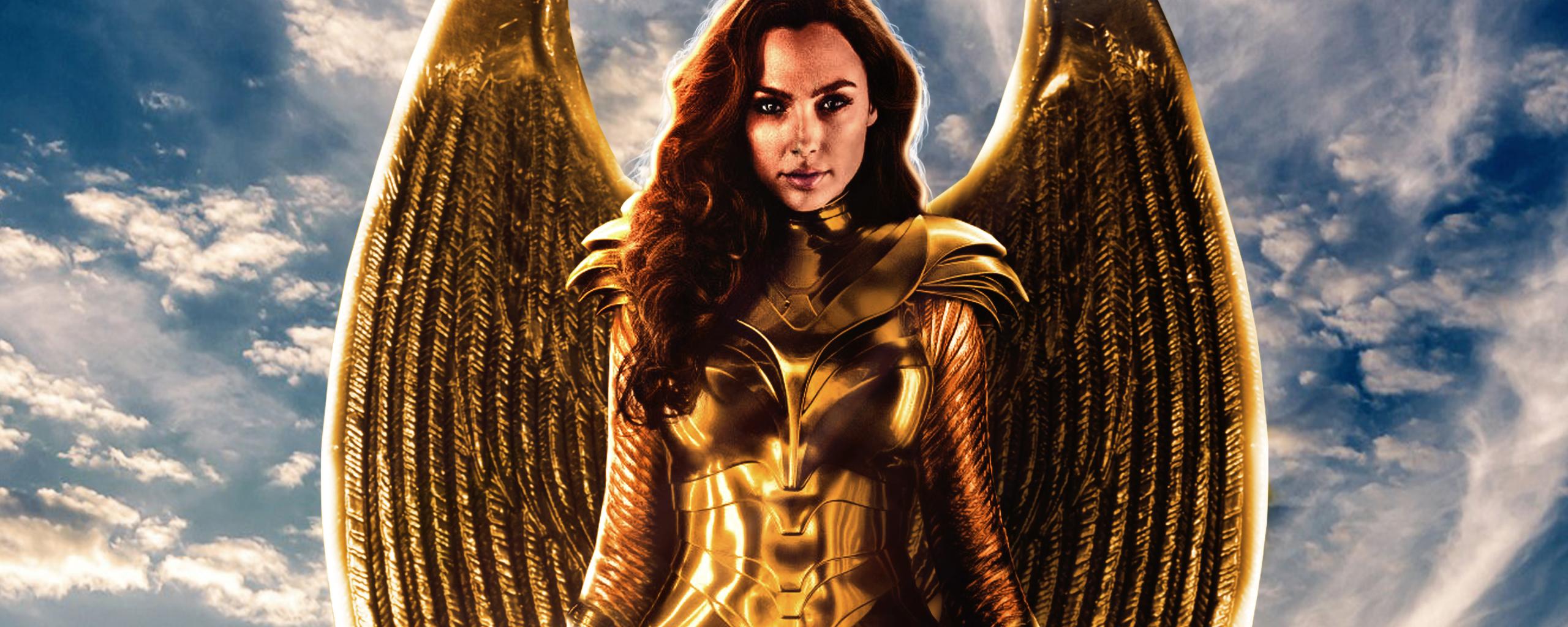 2560x1024 Wonder Woman Golden Eagle Armor 2560x1024 Resolution