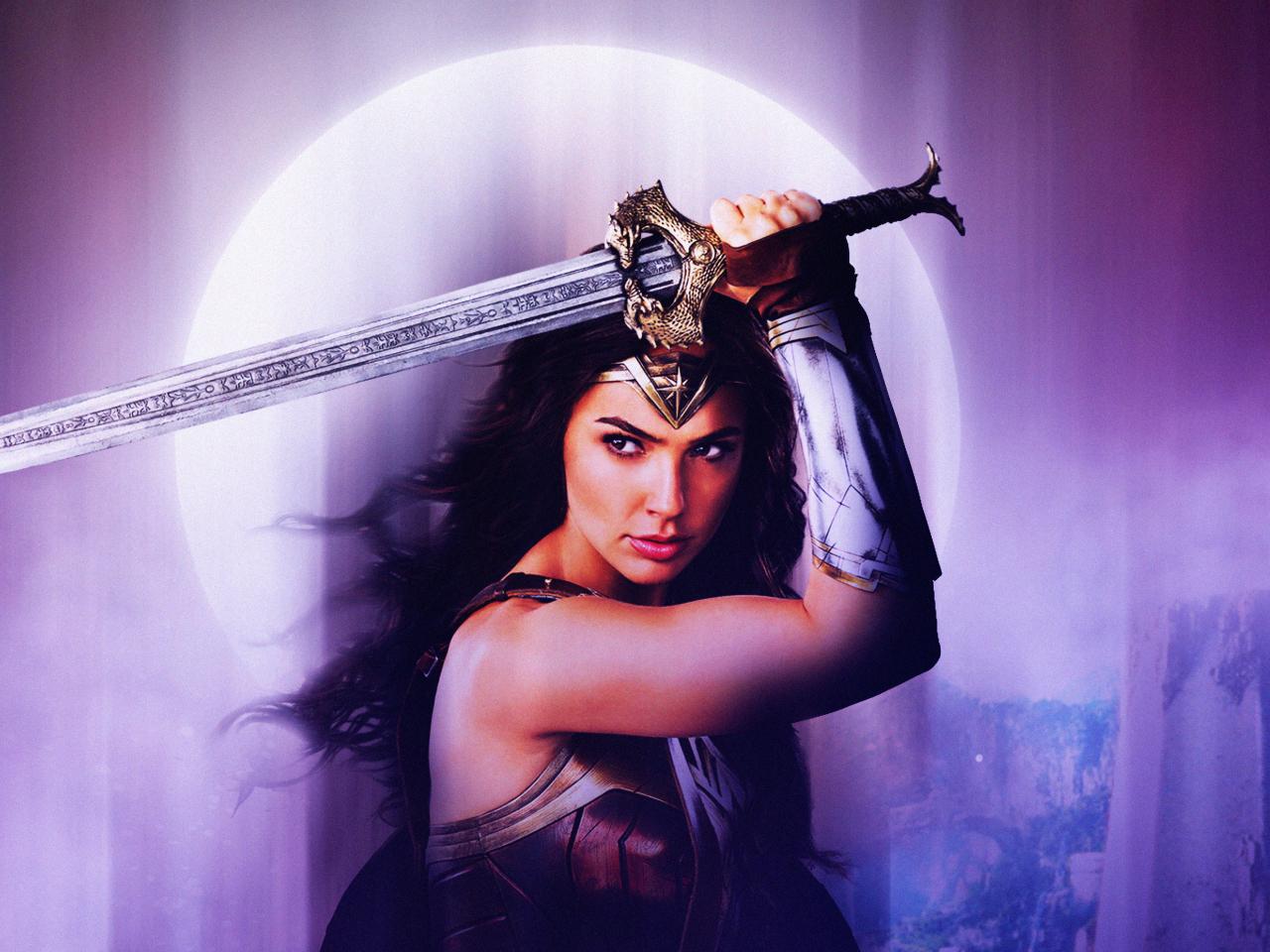 Wonder Woman Justice League 4k Fan Art Hd Movies 4k: Wonder Woman Justice League Fan Art, HD 4K Wallpaper