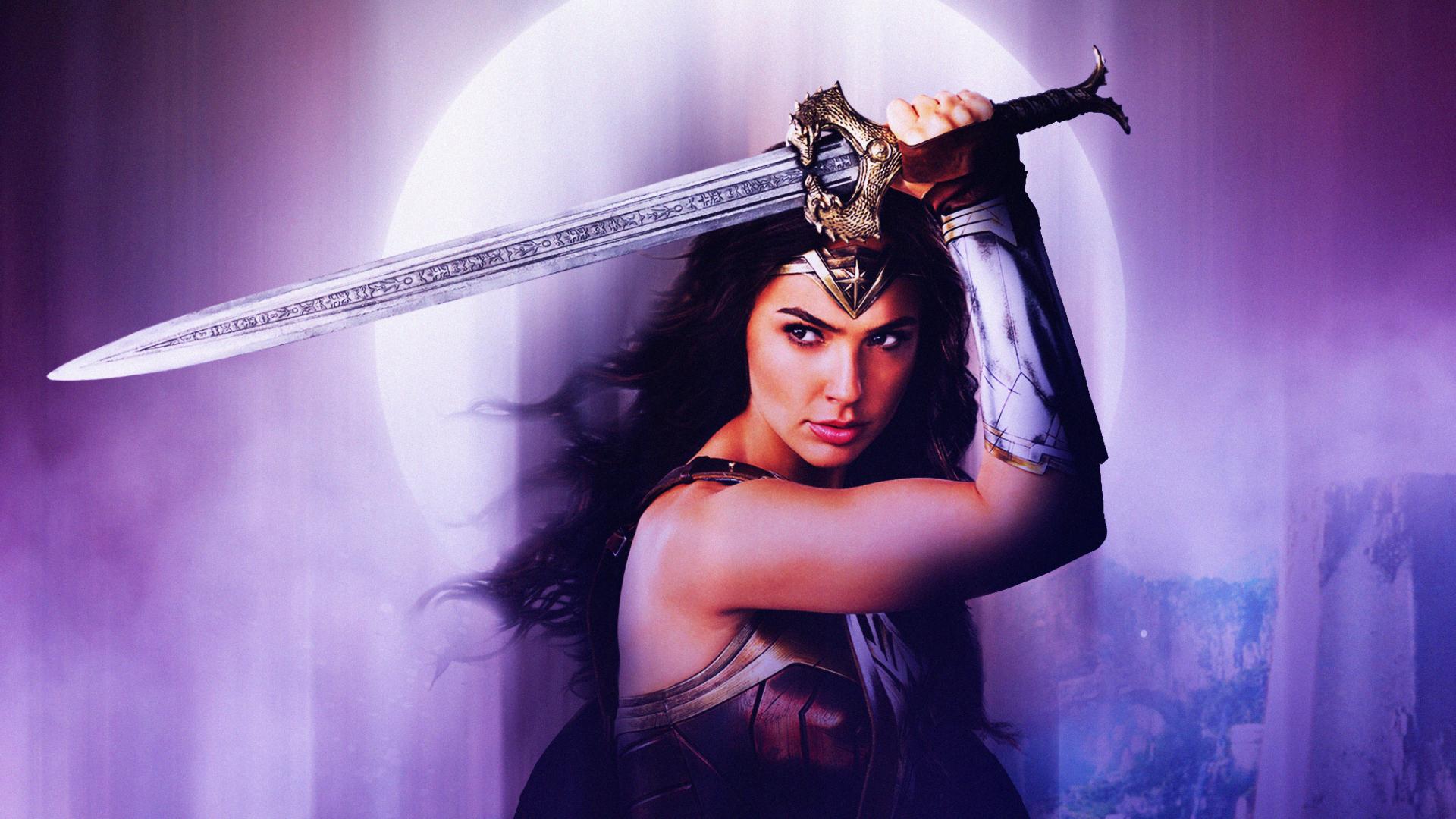 Wallpaper Wonder Woman Hd 4k 8k Movies 9526: Wonder Woman Justice League Fan Art, HD 4K Wallpaper