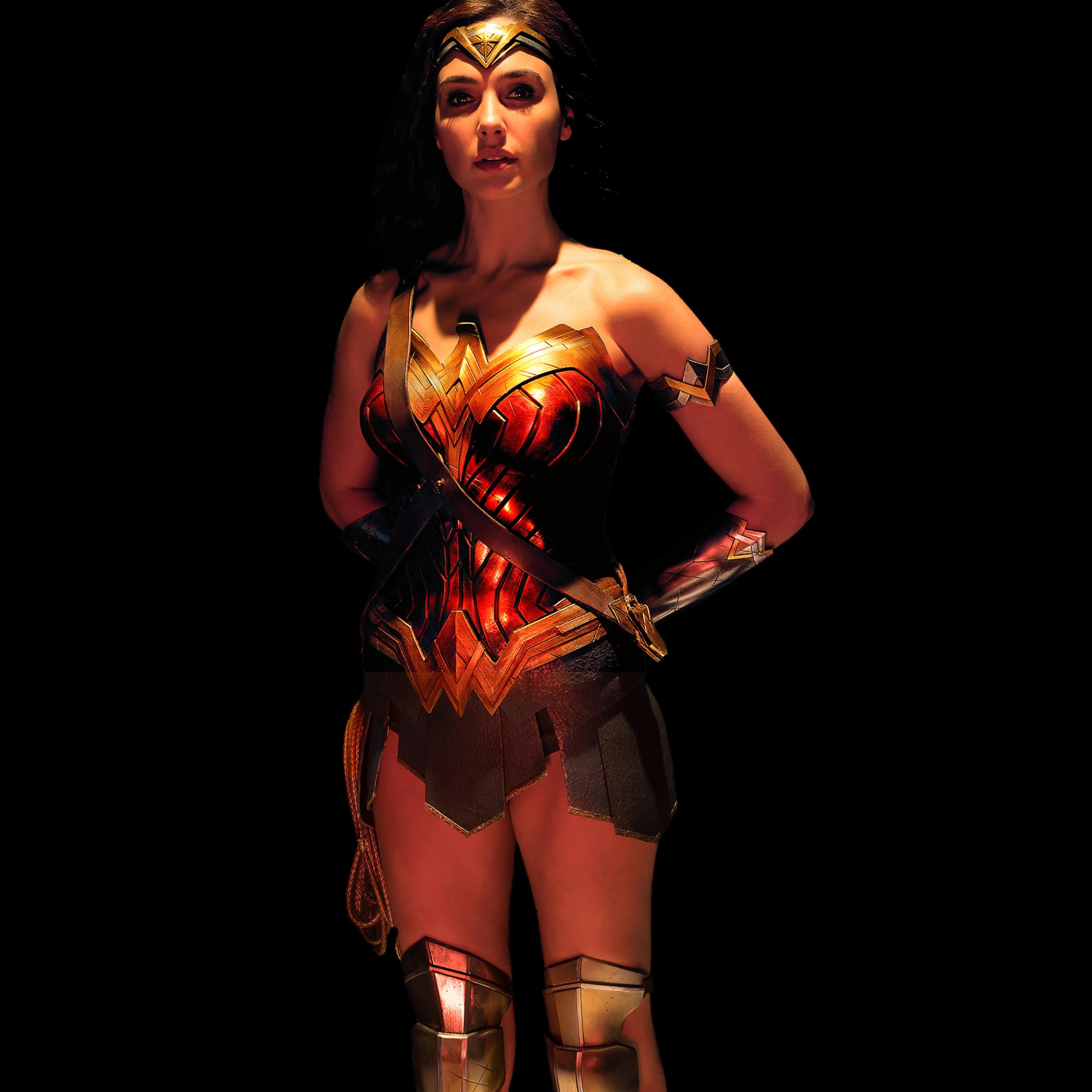 Wonder Woman Justice League, HD 4K Wallpaper
