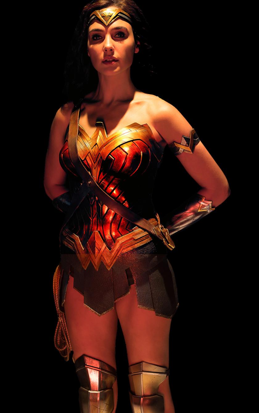 840x1336 Wonder Woman Justice League 840x1336 Resolution