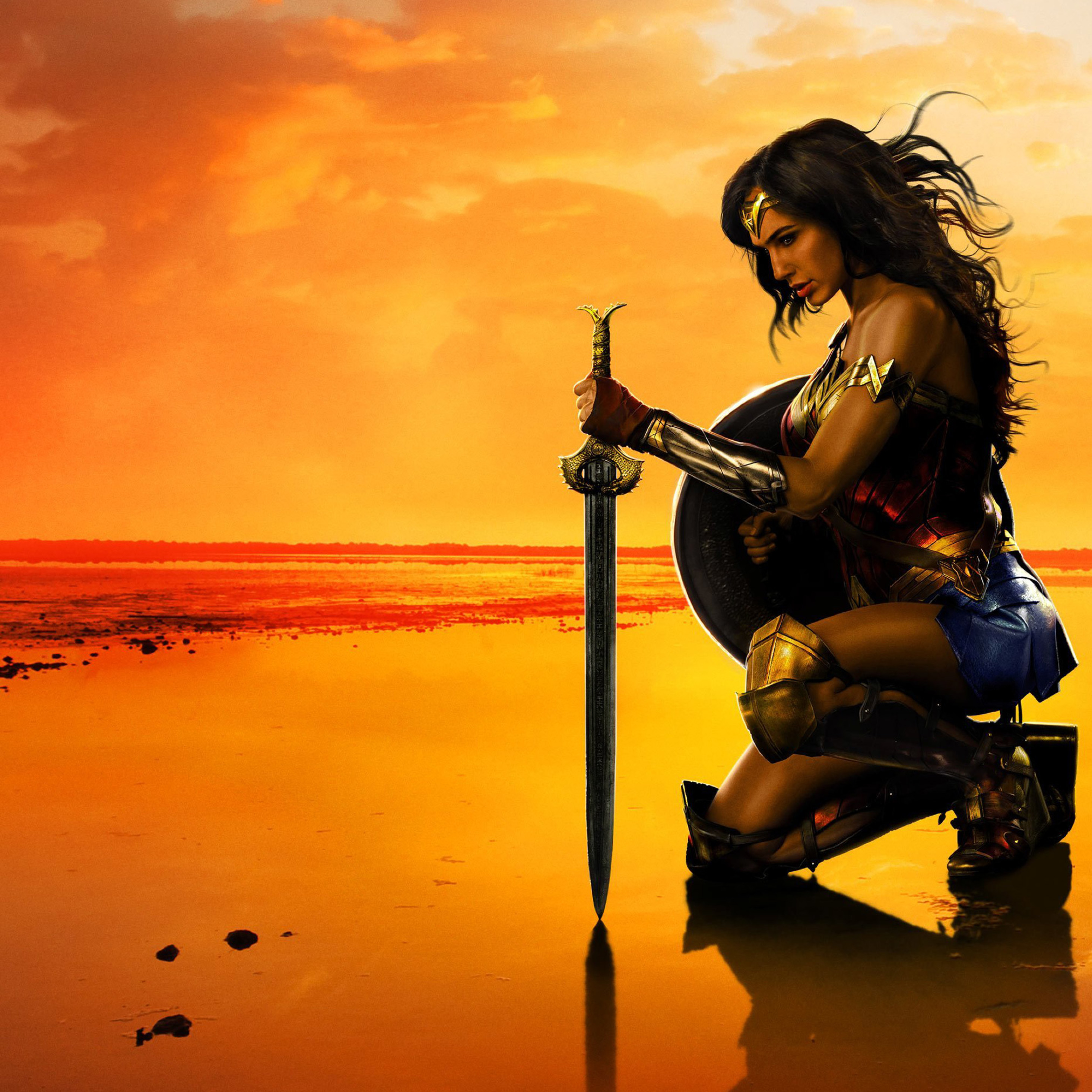 Wonder Woman Movie Poster, HD 4K Wallpaper