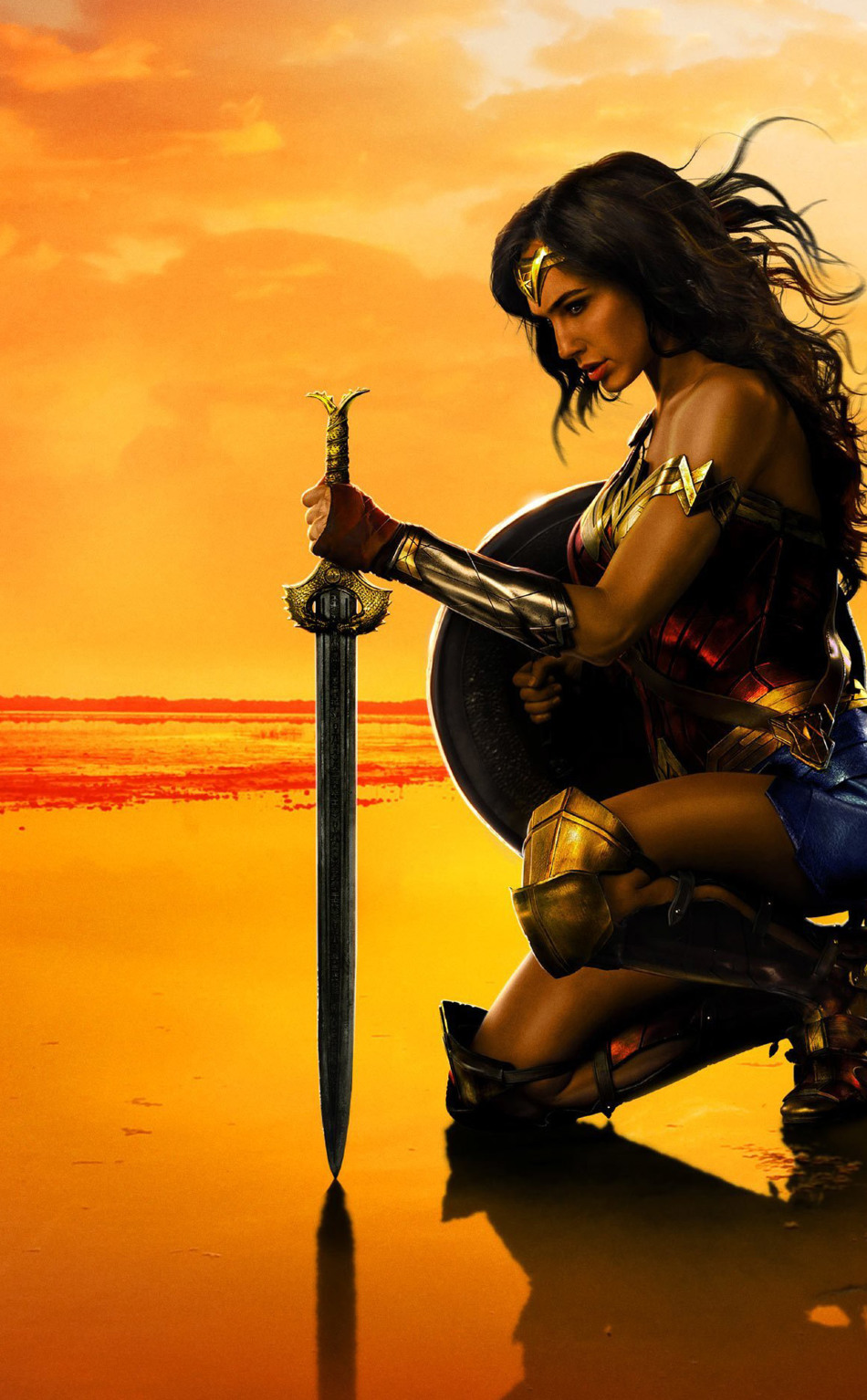 Wonder Woman Movie Poster HD 4K Wallpaper