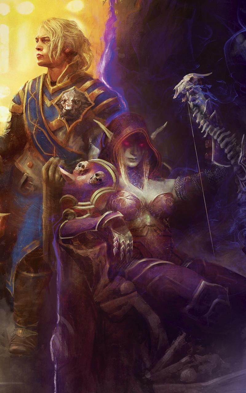 800x1280 World Of Warcraft Battle For Azeroth Game Nexus 7 Samsung