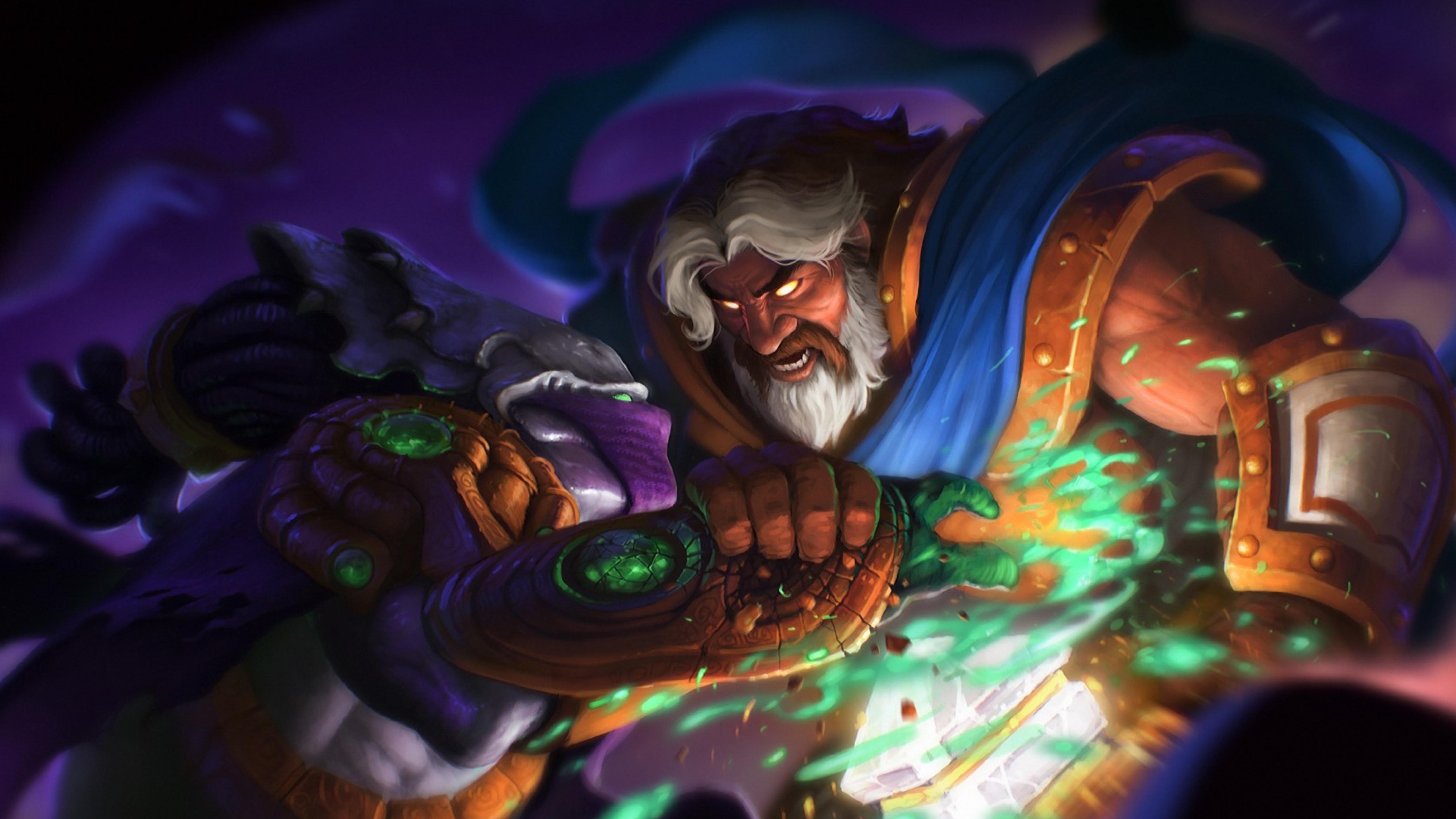 5120x2880 World Of Warcraft Heroes Of The Storm Zeratul 5k