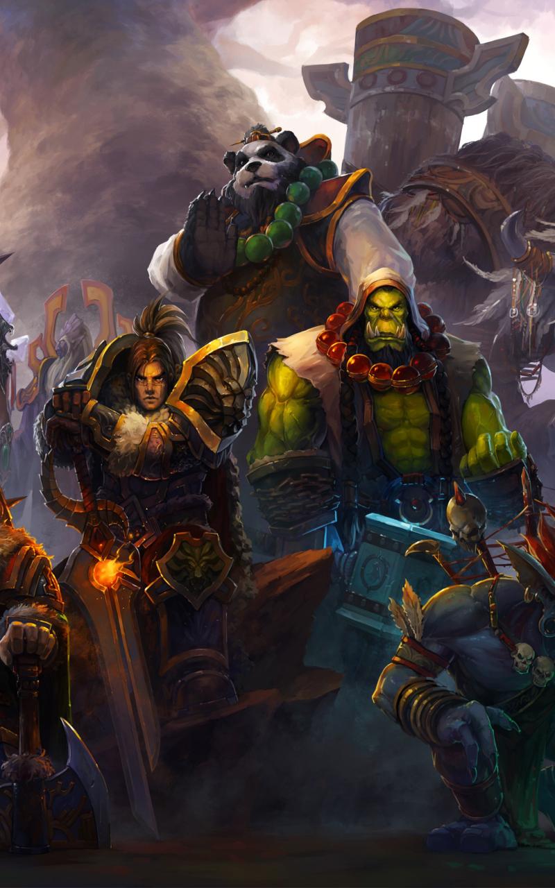 800x1280 World of Warcraft Heroes Nexus 7,Samsung Galaxy ...