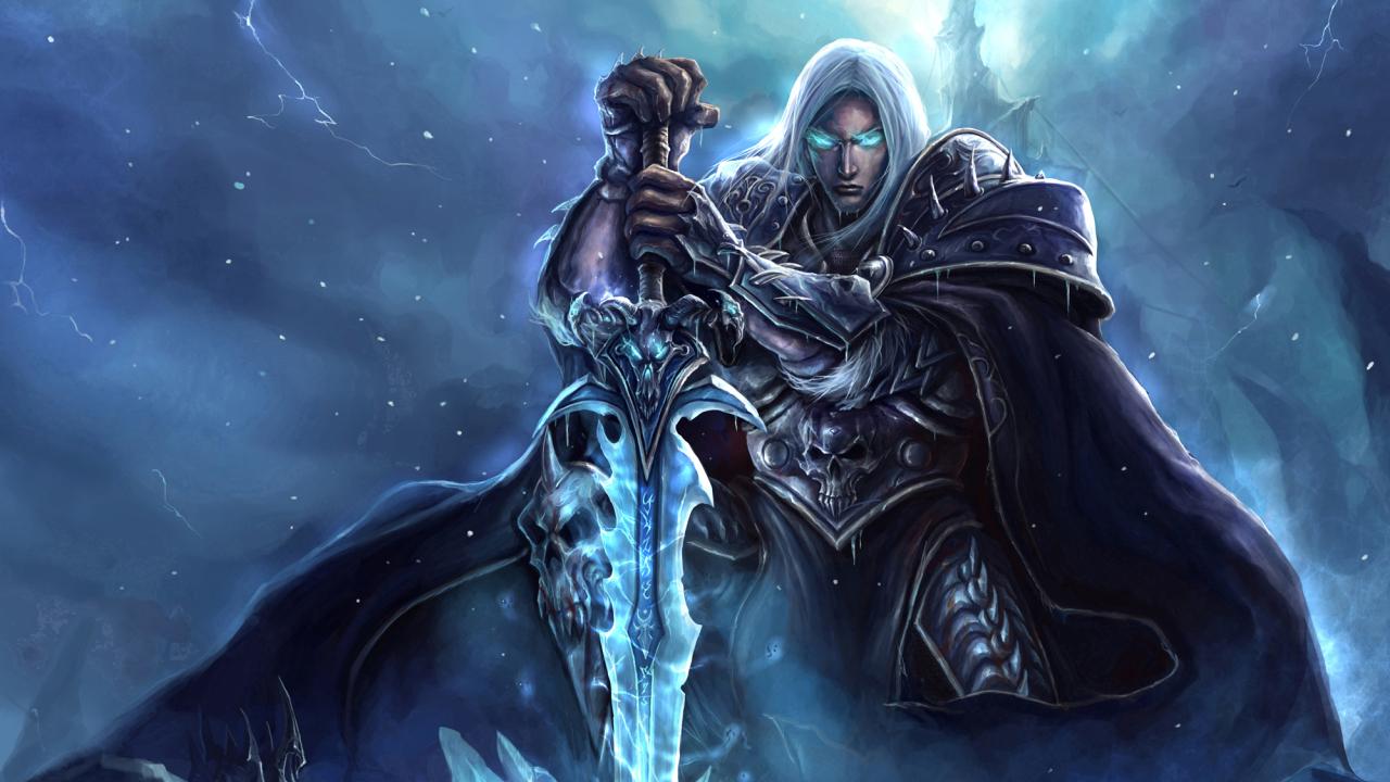 1280x720 World Of Warcraft Lich King Arthas Menethil 720p