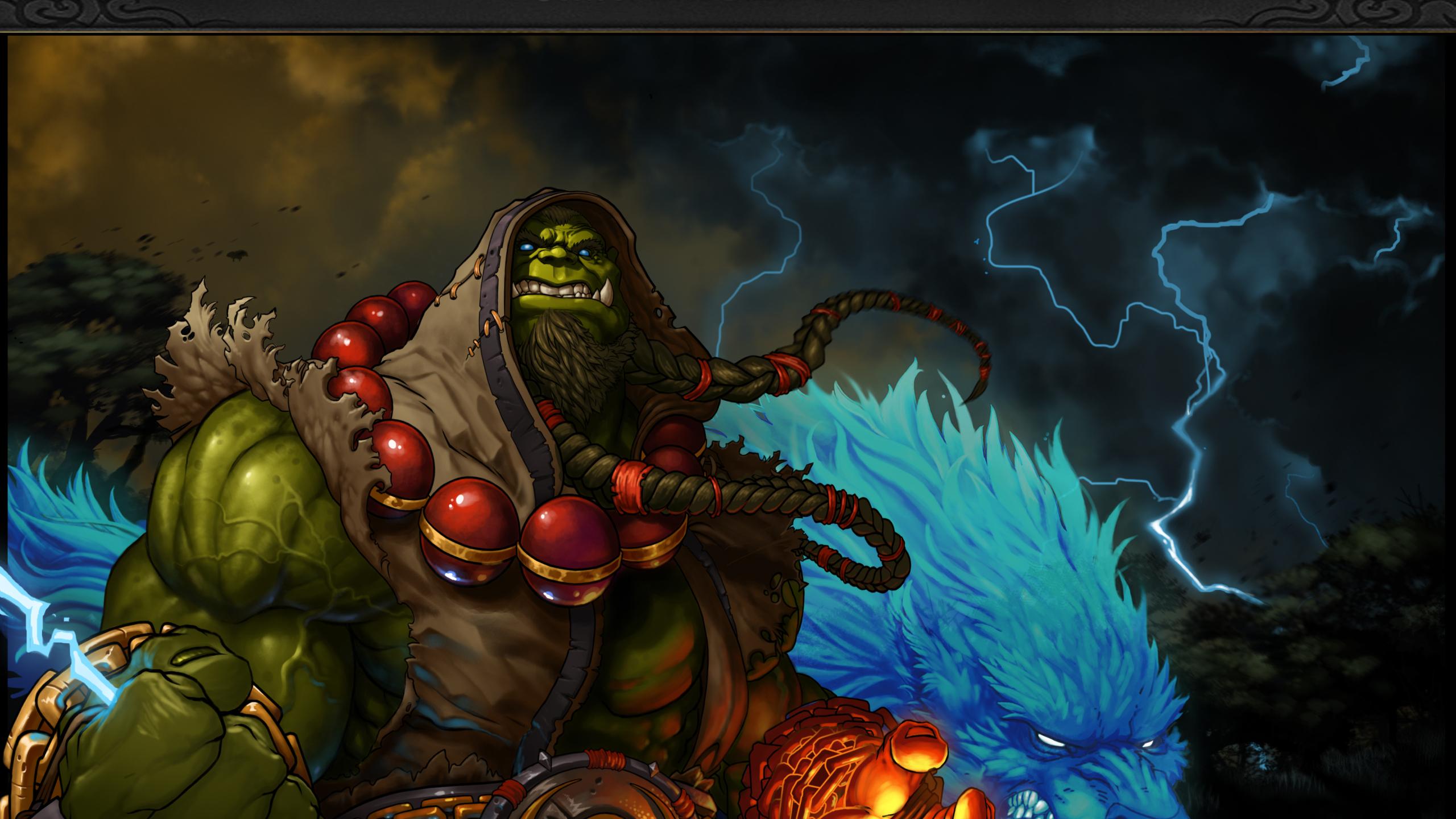 2560x1440 World Of Warcraft Shaman Thrall 1440p Resolution