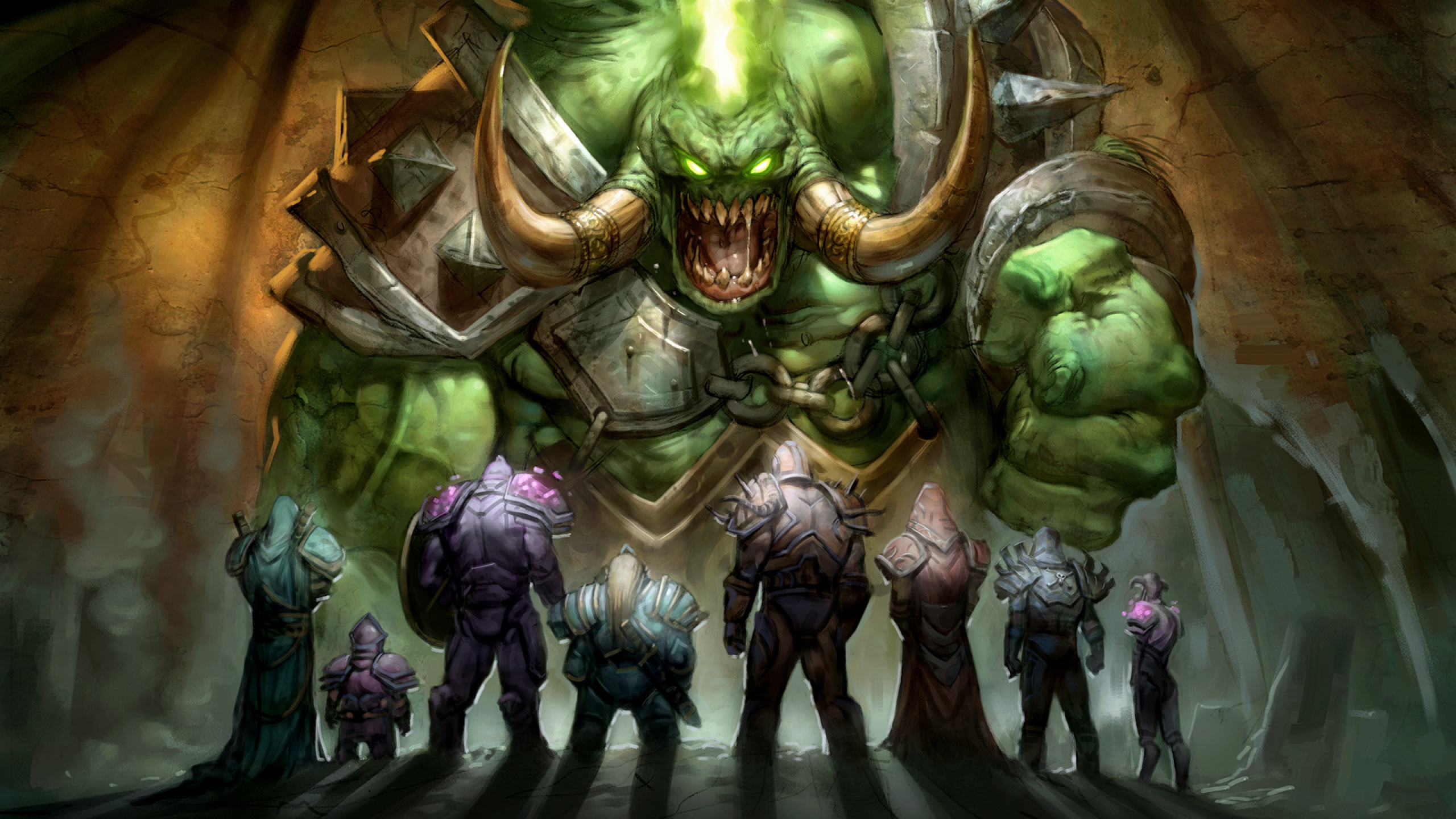 2560x1440 world of warcraft, wow, heroes 1440P Resolution