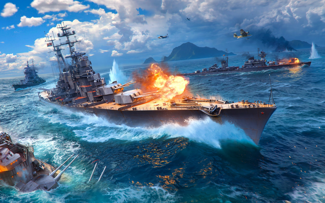 1280x800 World Of Warships Ship 1280x800 Resolution Wallpaper, HD Games 4K Wallpapers, Images ...