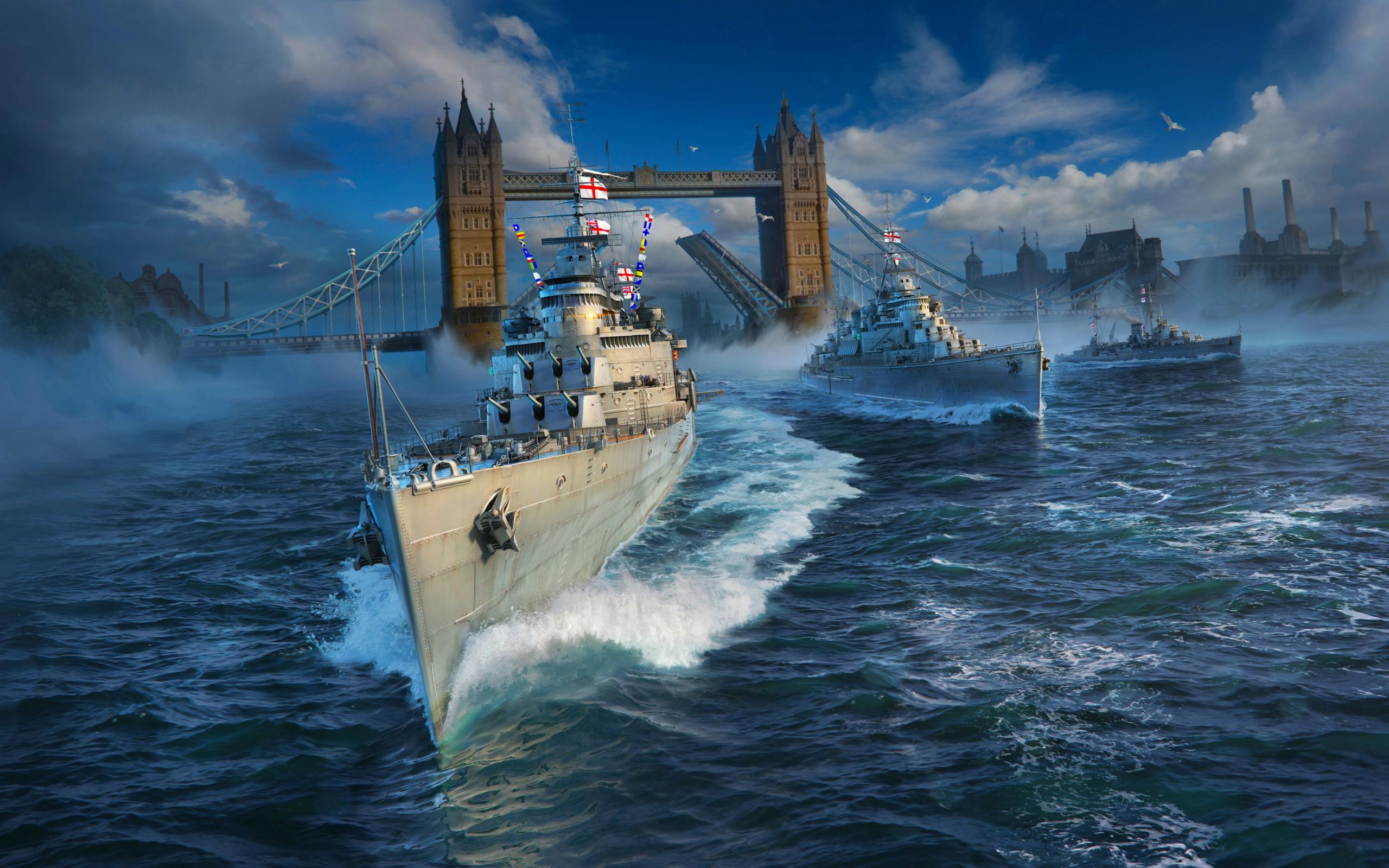 World Of Warships, Full HD Wallpaper