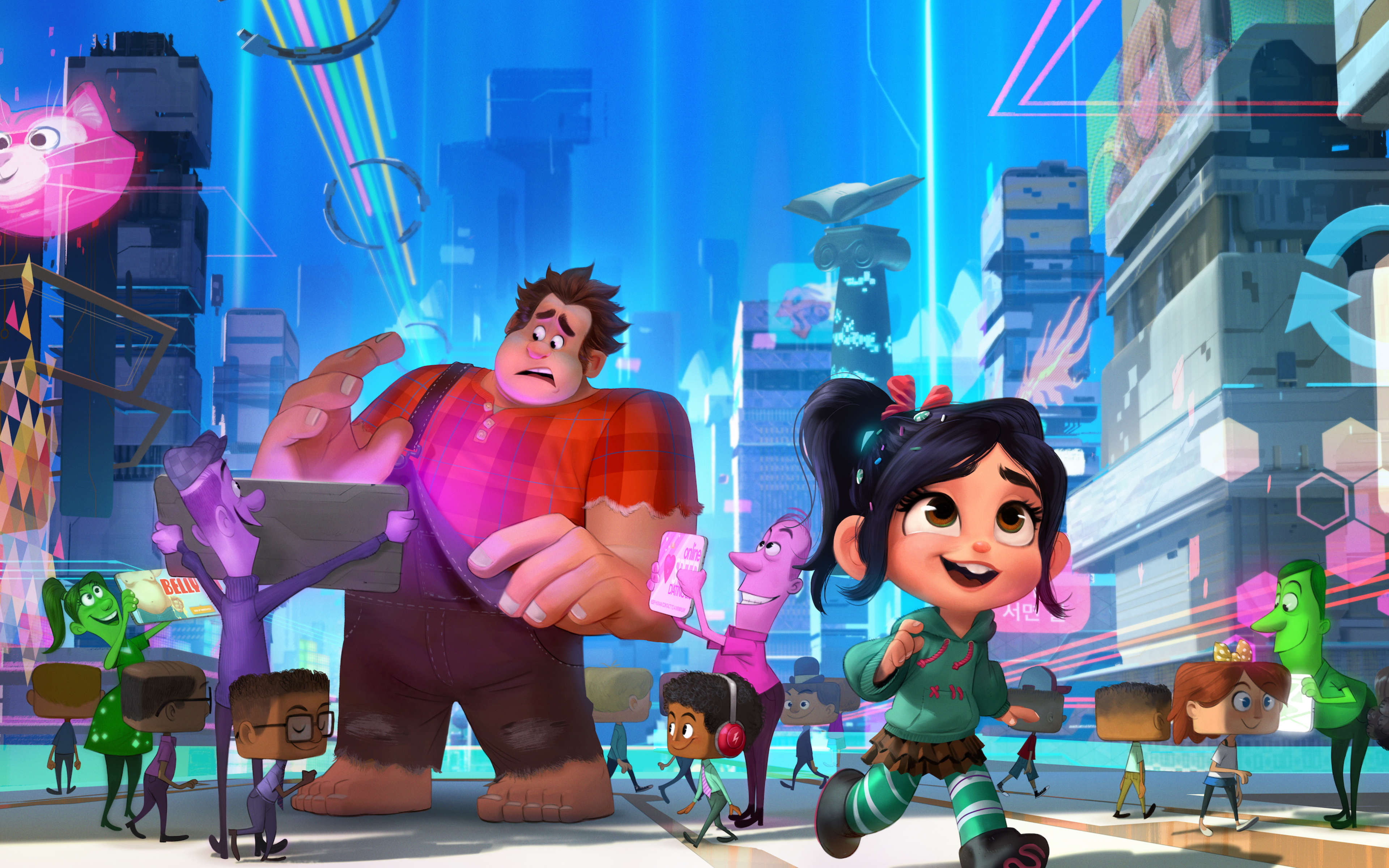 wreck it ralph From walt disney animation studios comes a hilarious, arcade-game-hopping journey in disney's wreck-it ralph for decades, ralph has played the bad guy in.