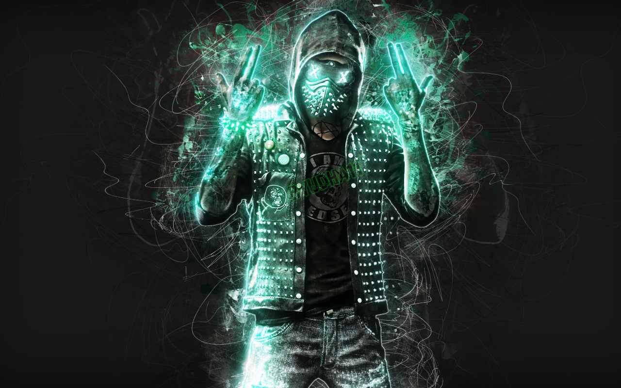 Download wrench watch dogs 2 fan art 840x1336 resolution - Fan wallpaper download ...
