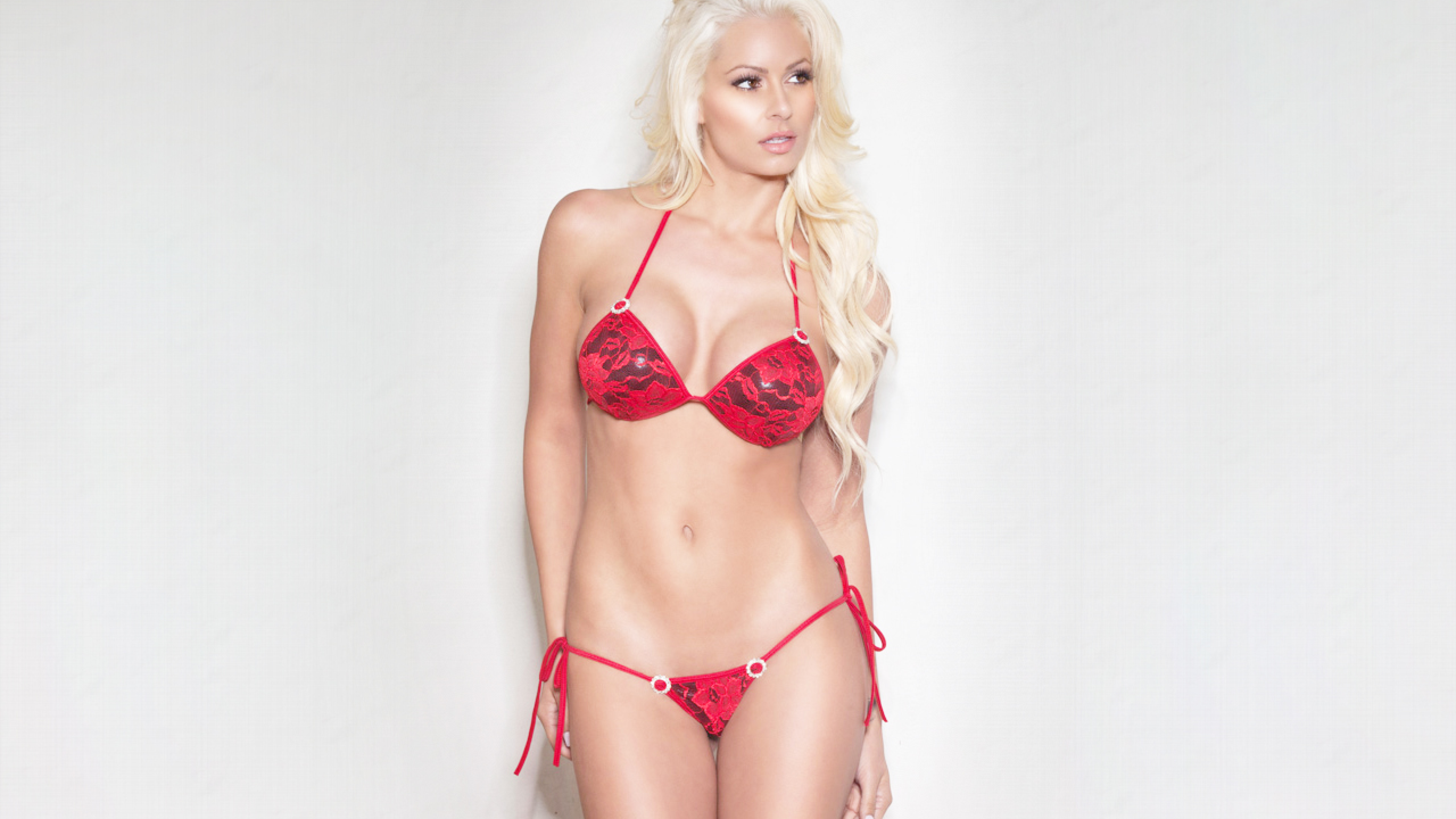 Wwe Hot Maryse In Bikini, Hd Wallpaper-2849