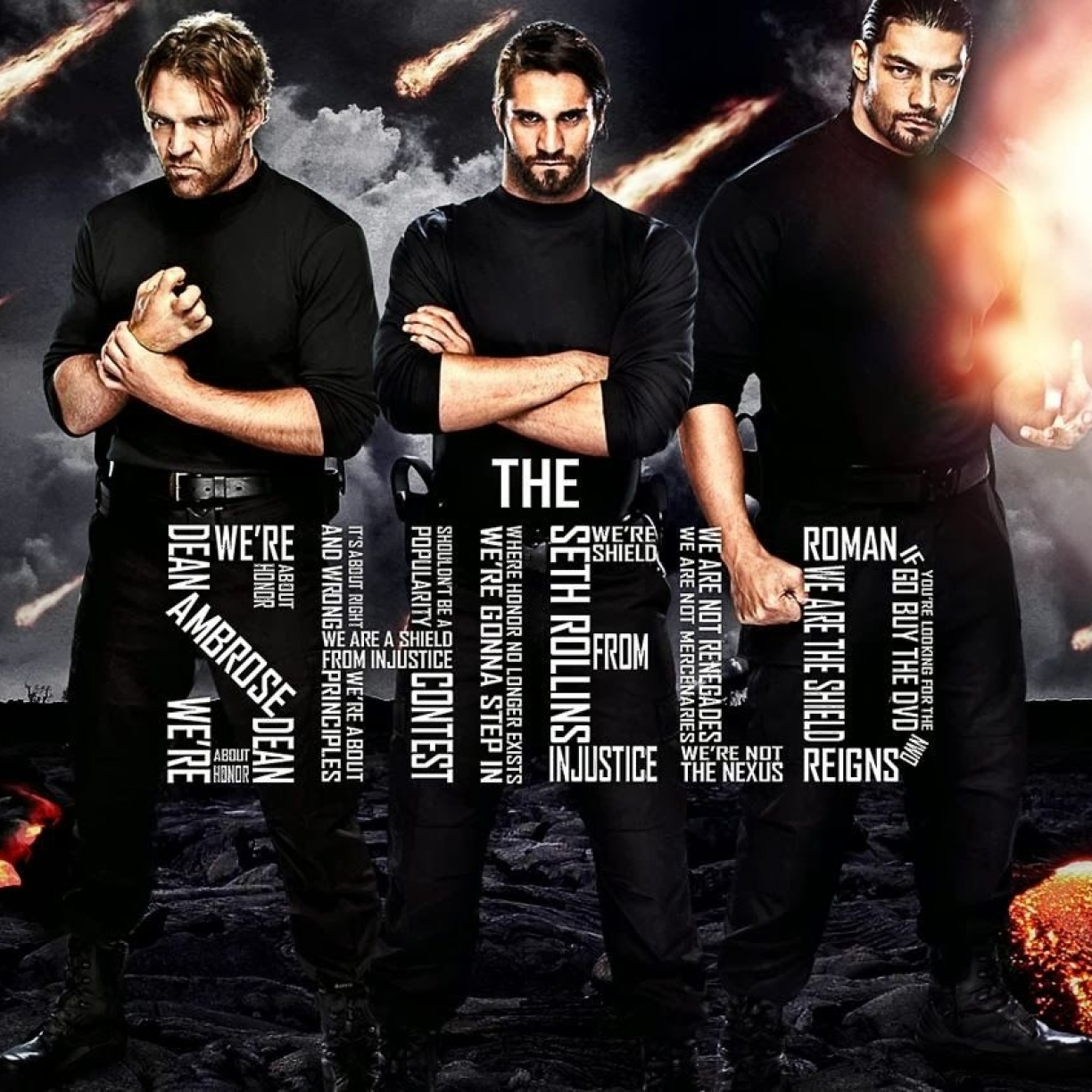 Wwe the shield hd wallpaper - Download pictures of the shield wwe ...